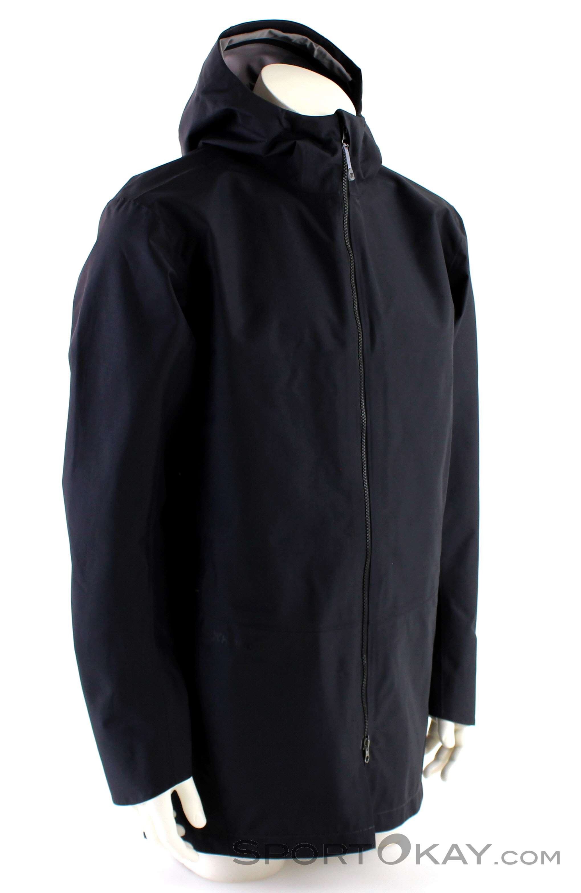 Houdini Sherlock Coat Herren Freizeitmantel-Schwarz-XL