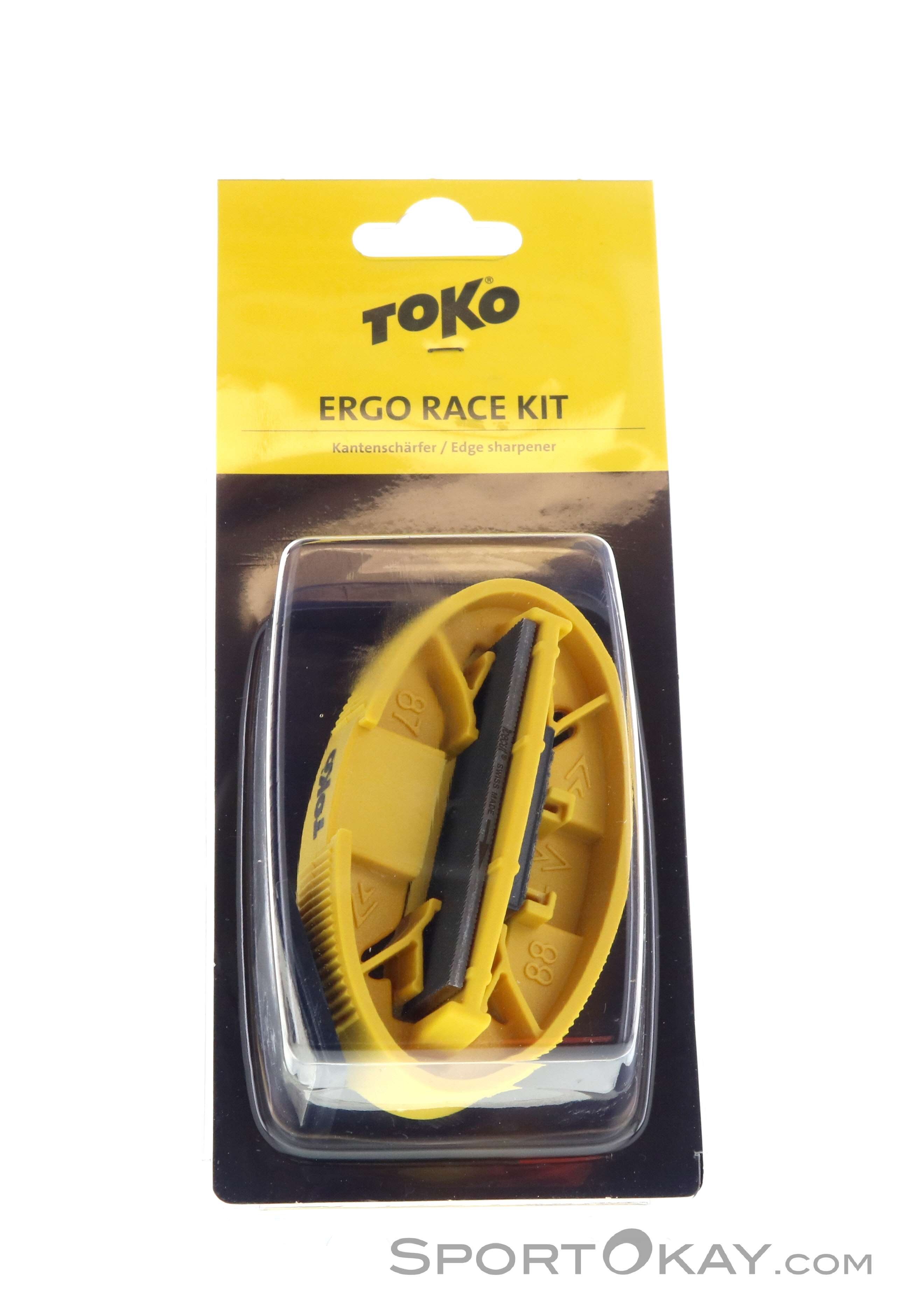 Toko Ergo Race Kit Kantenschleifer-Gelb-One Size