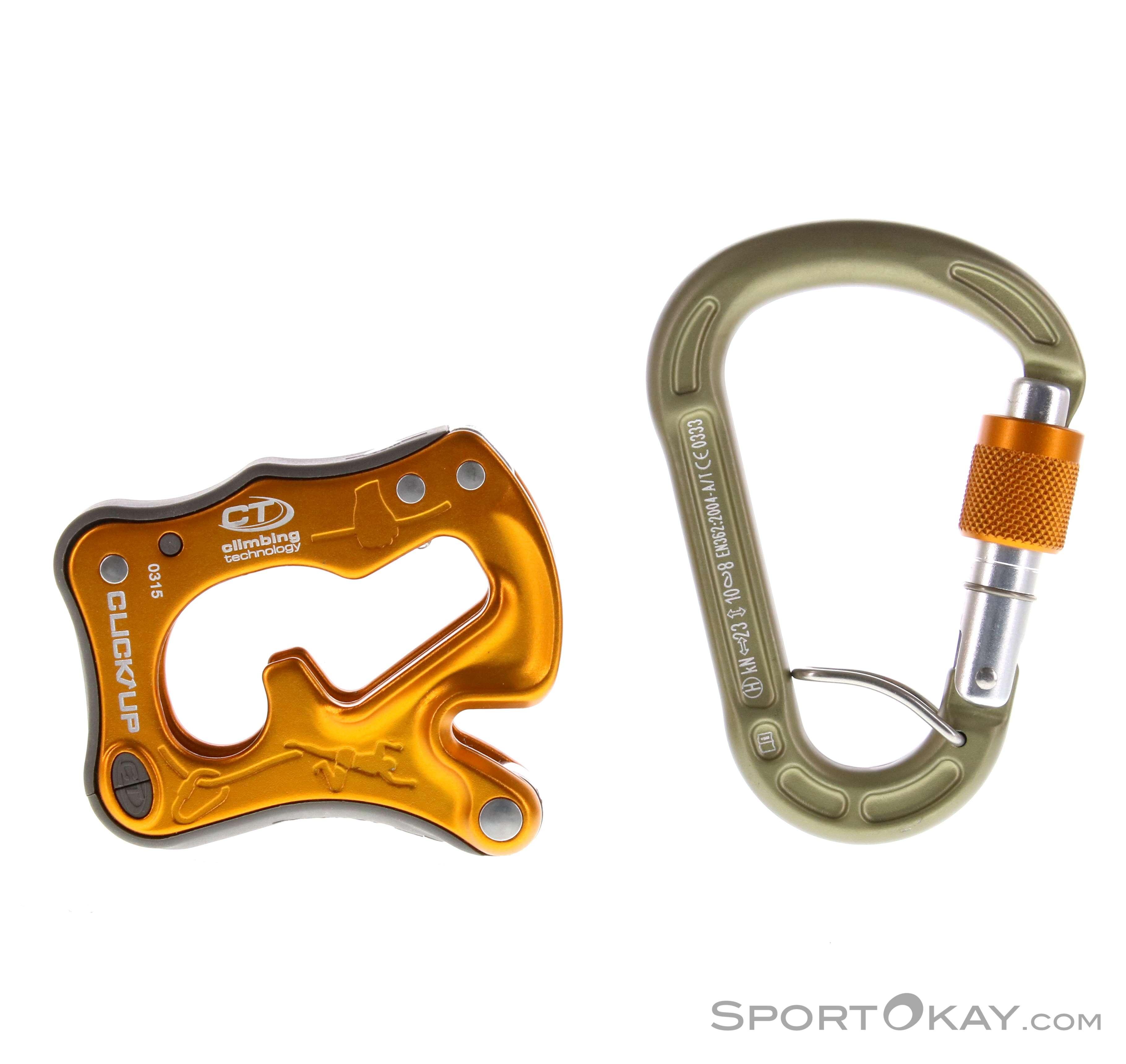 Climbing Technology Click Up Kit Sicherungsgerät-Gelb-One Size