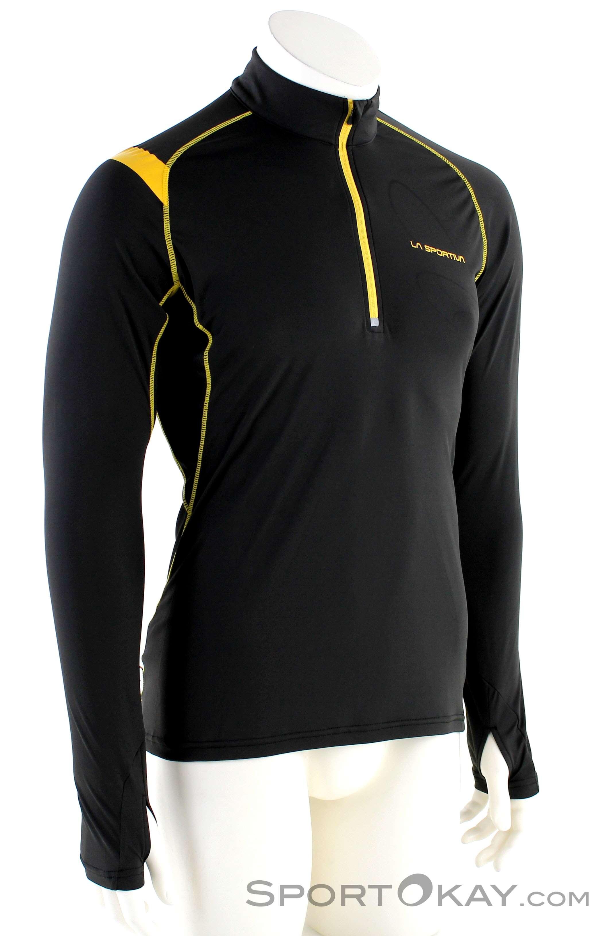 La Sportiva Action Long Sleeve Herren Shirt-Schwarz-L