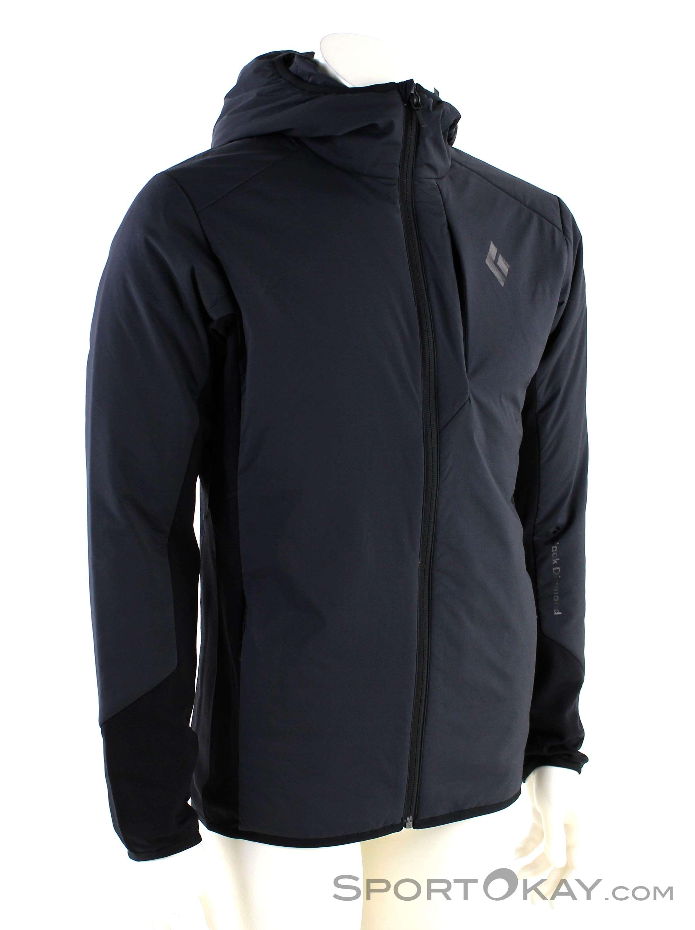 Black Diamond First Light Hybrid Herren Tourensweater-Schwarz-M