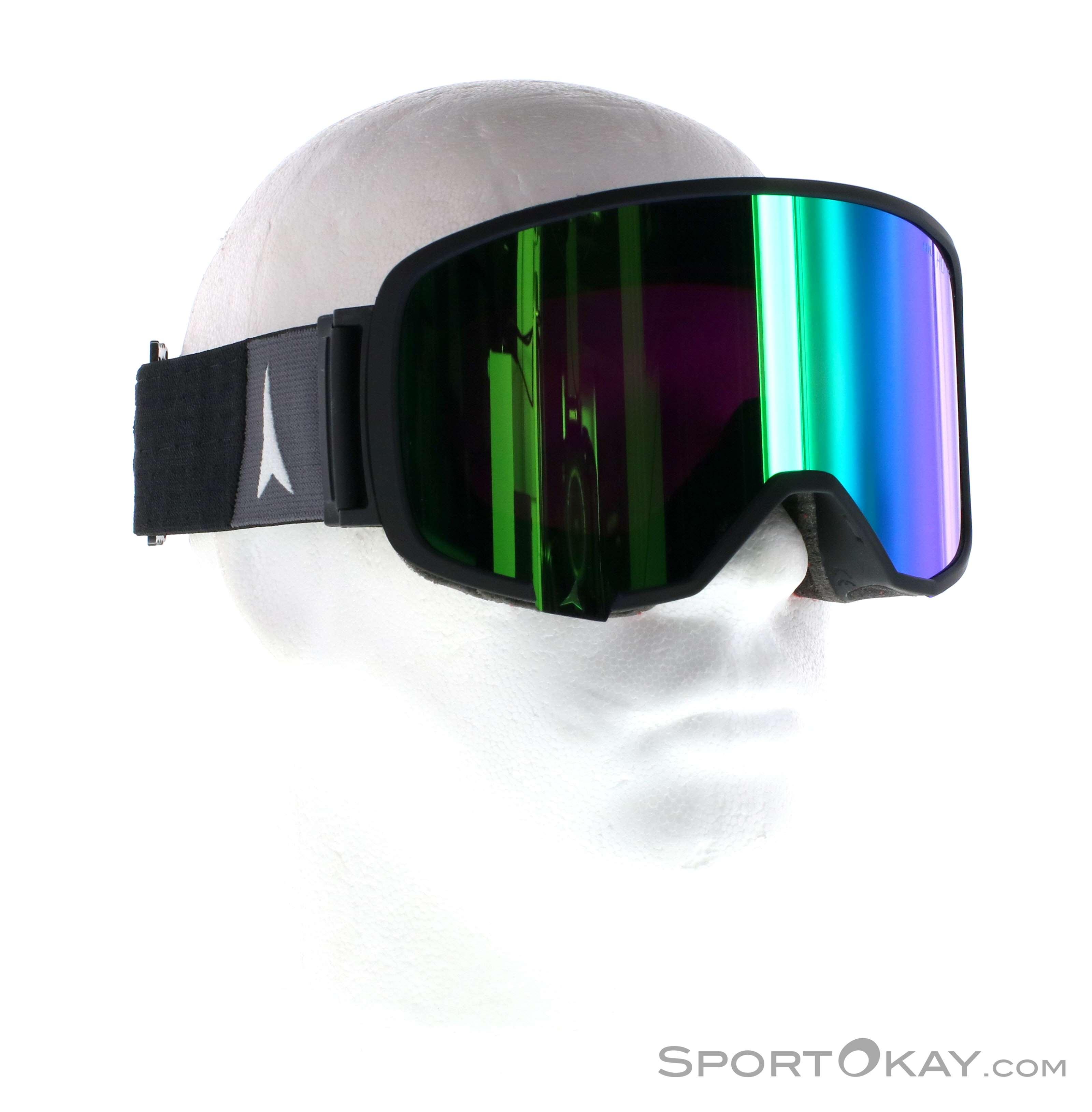 Atomic Revent L FDL HD Skibrille-Schwarz-One Size
