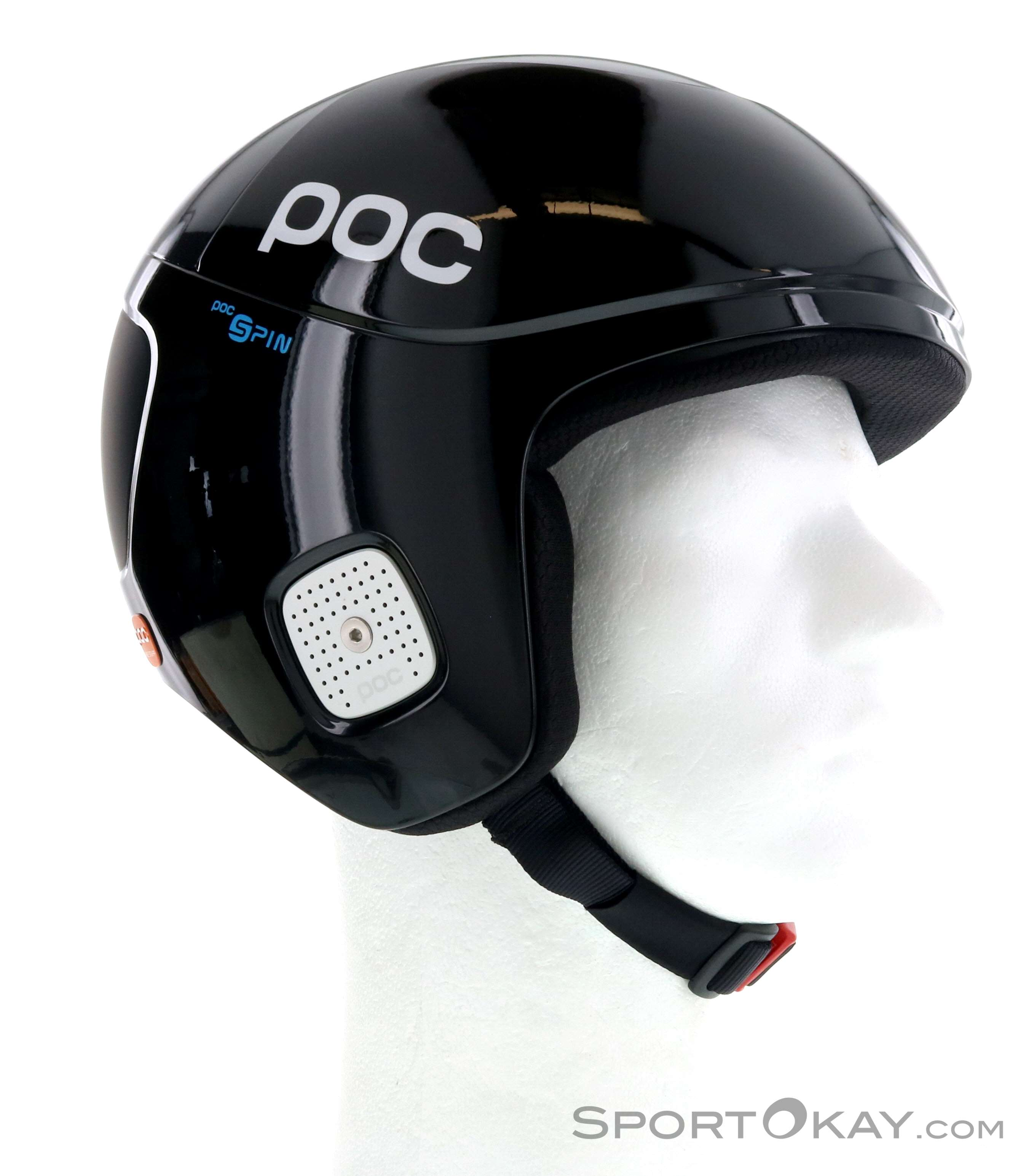 POC Skull Orbic Comp Spin Skihelm-Schwarz-XL/XXL