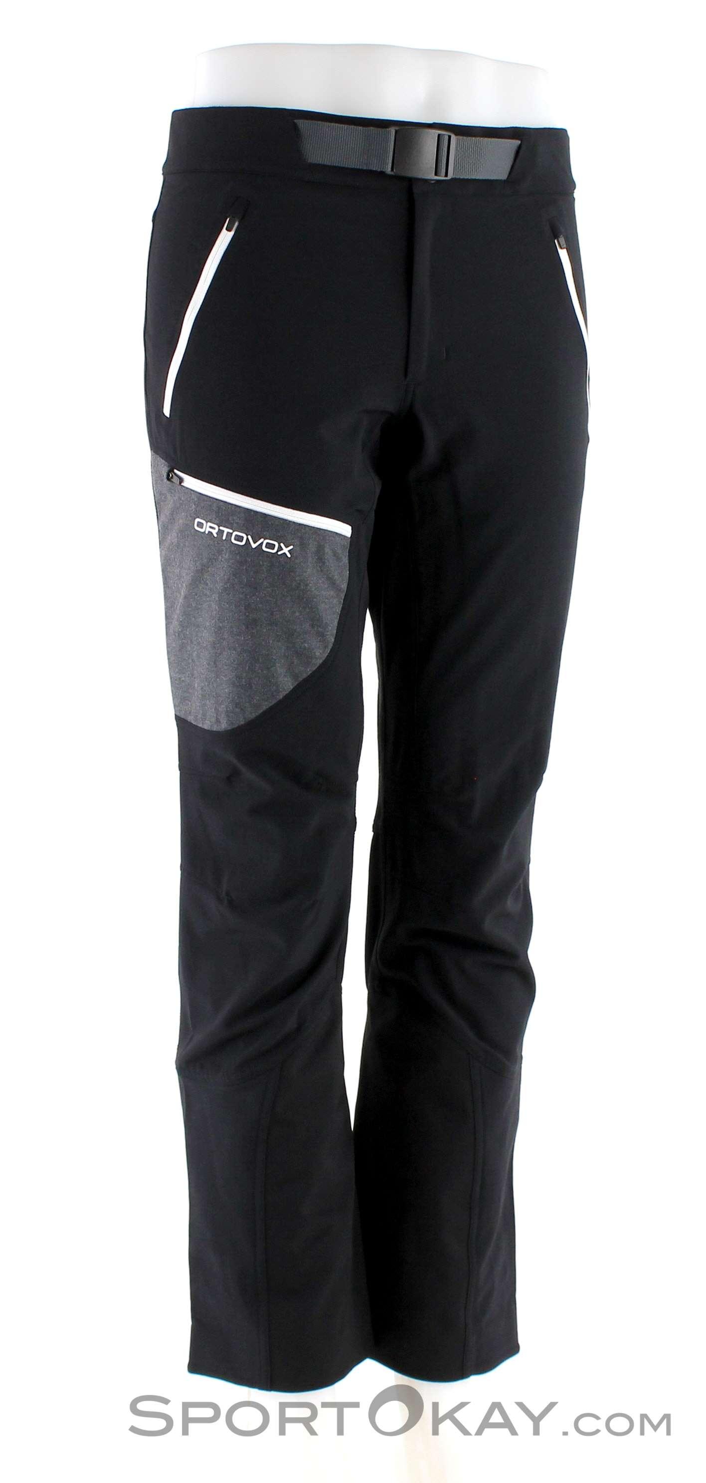 Ortovox Cevedale Pants Herren Tourenhose-Schwarz-XL