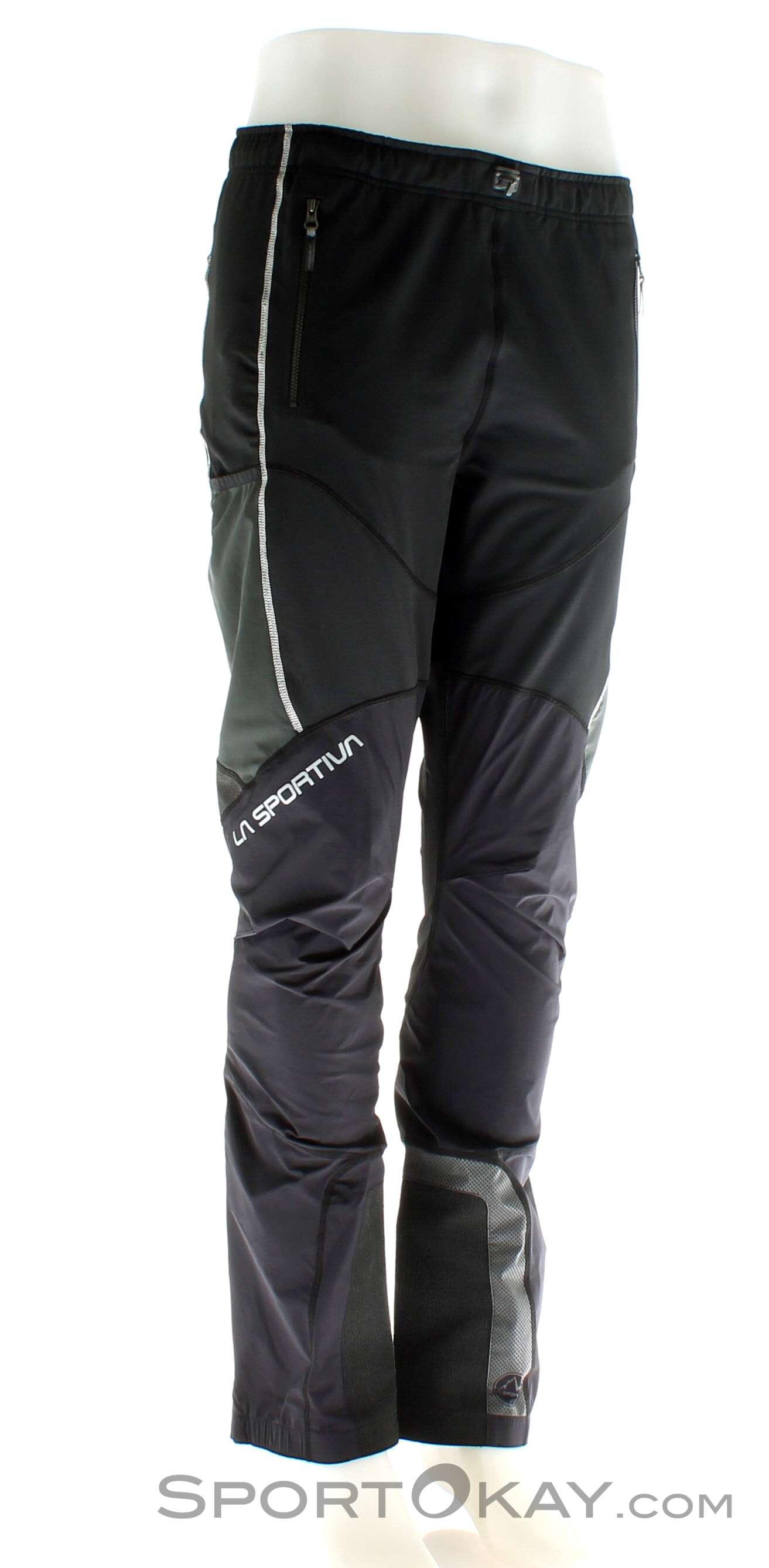 La Sportiva Solid Pant M Herren Tourenhose-Schwarz-XL