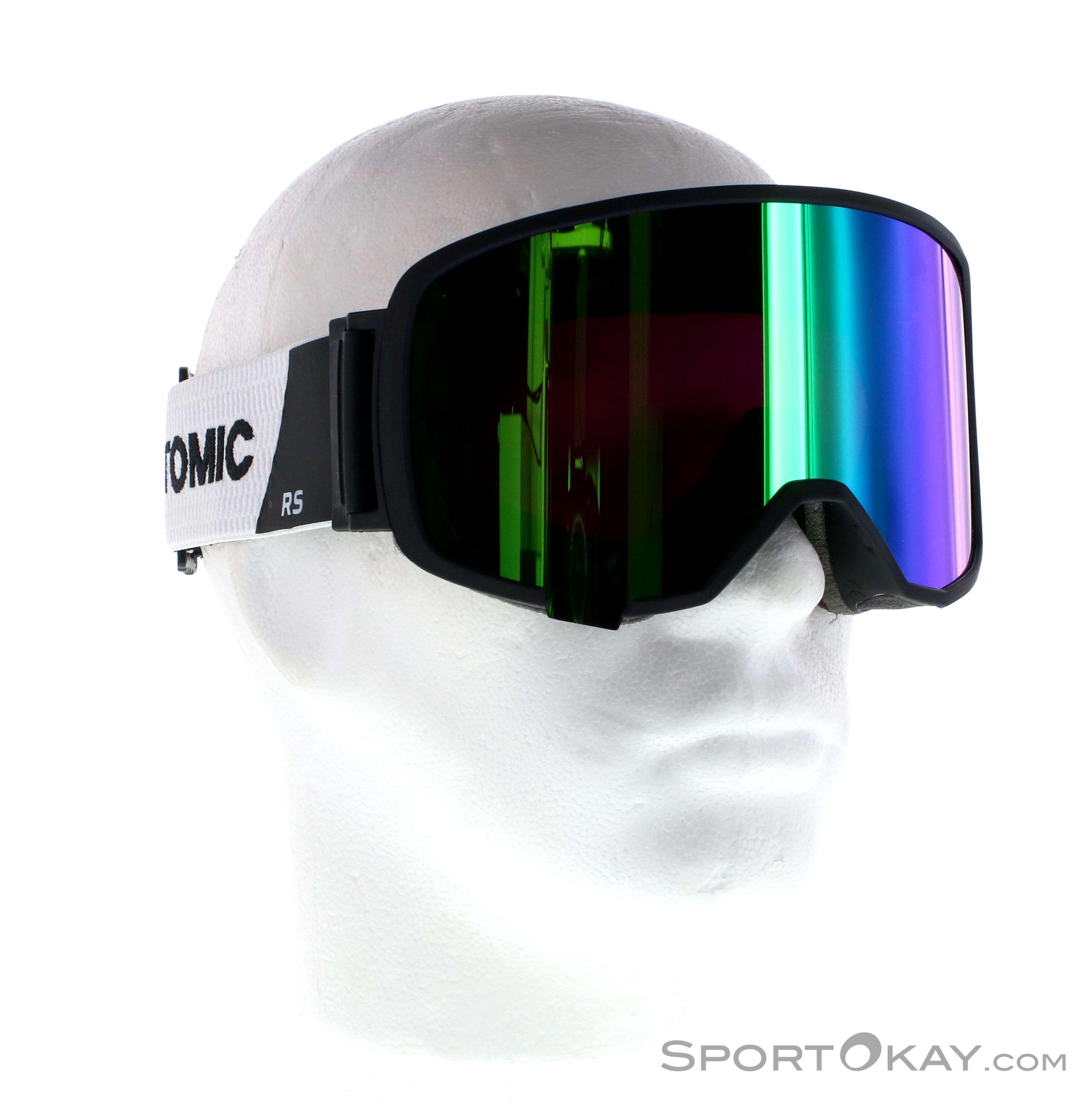 Atomic Revent L RS FDL HD Skibrille-Schwarz-One Size