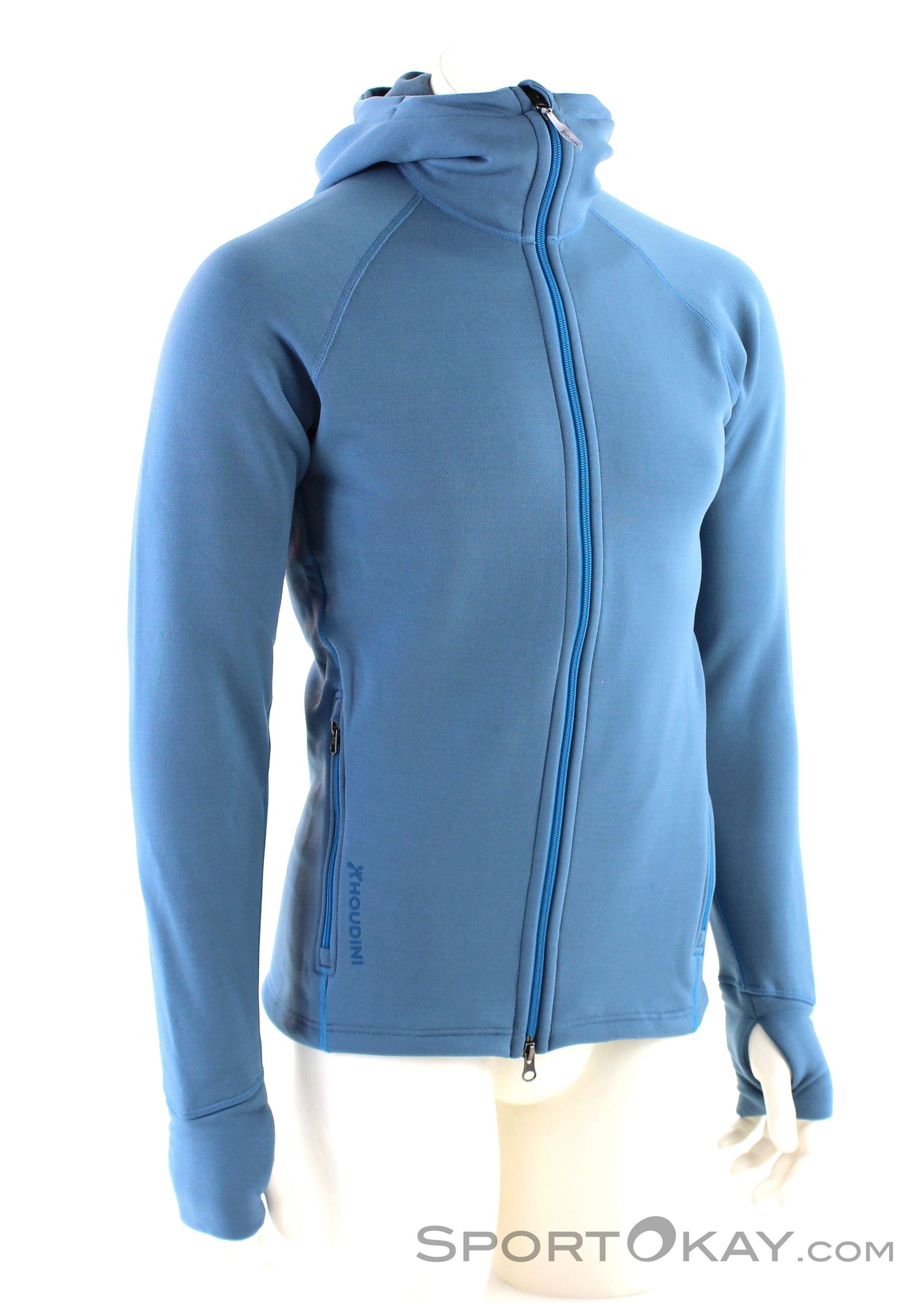 Houdini Power Herren Sweater-Blau-M
