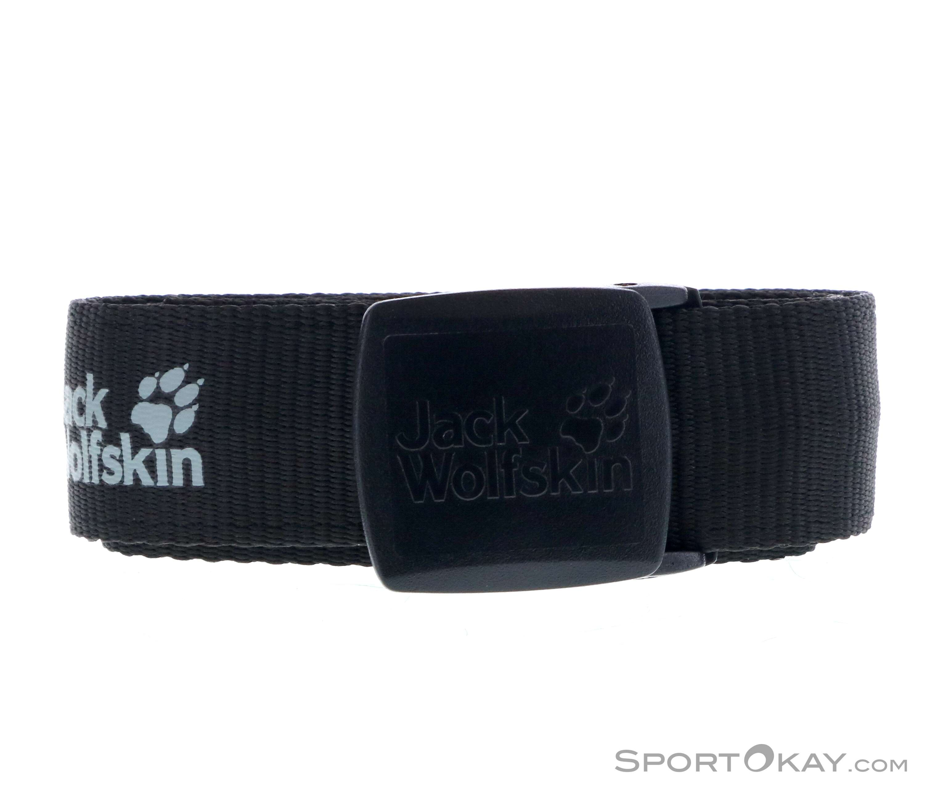 Jack Wolfskin Secret Belt Wide Gürtel-Schwarz-One Size