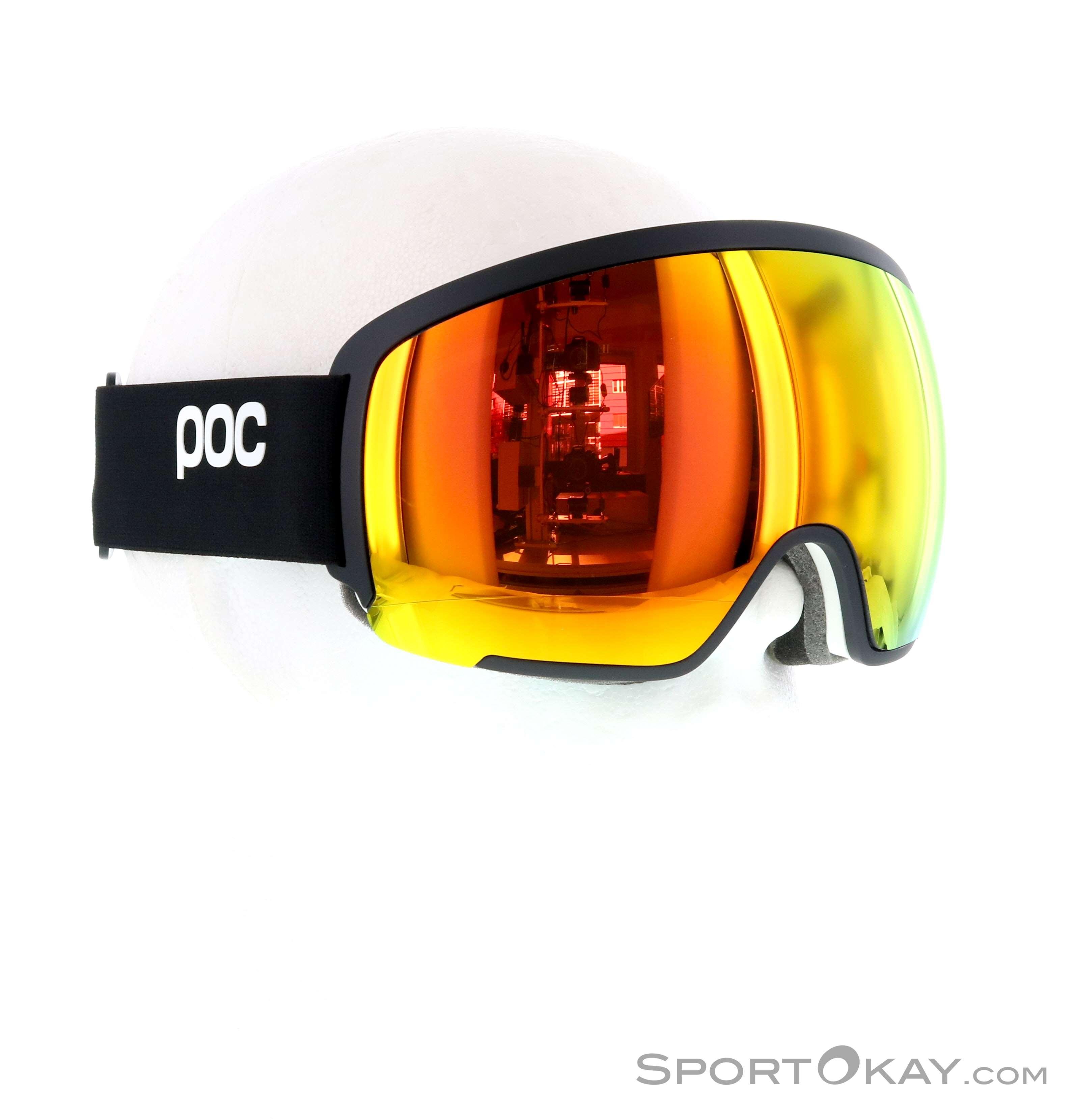 POC Orb Clarity Skibrille-Schwarz-One Size