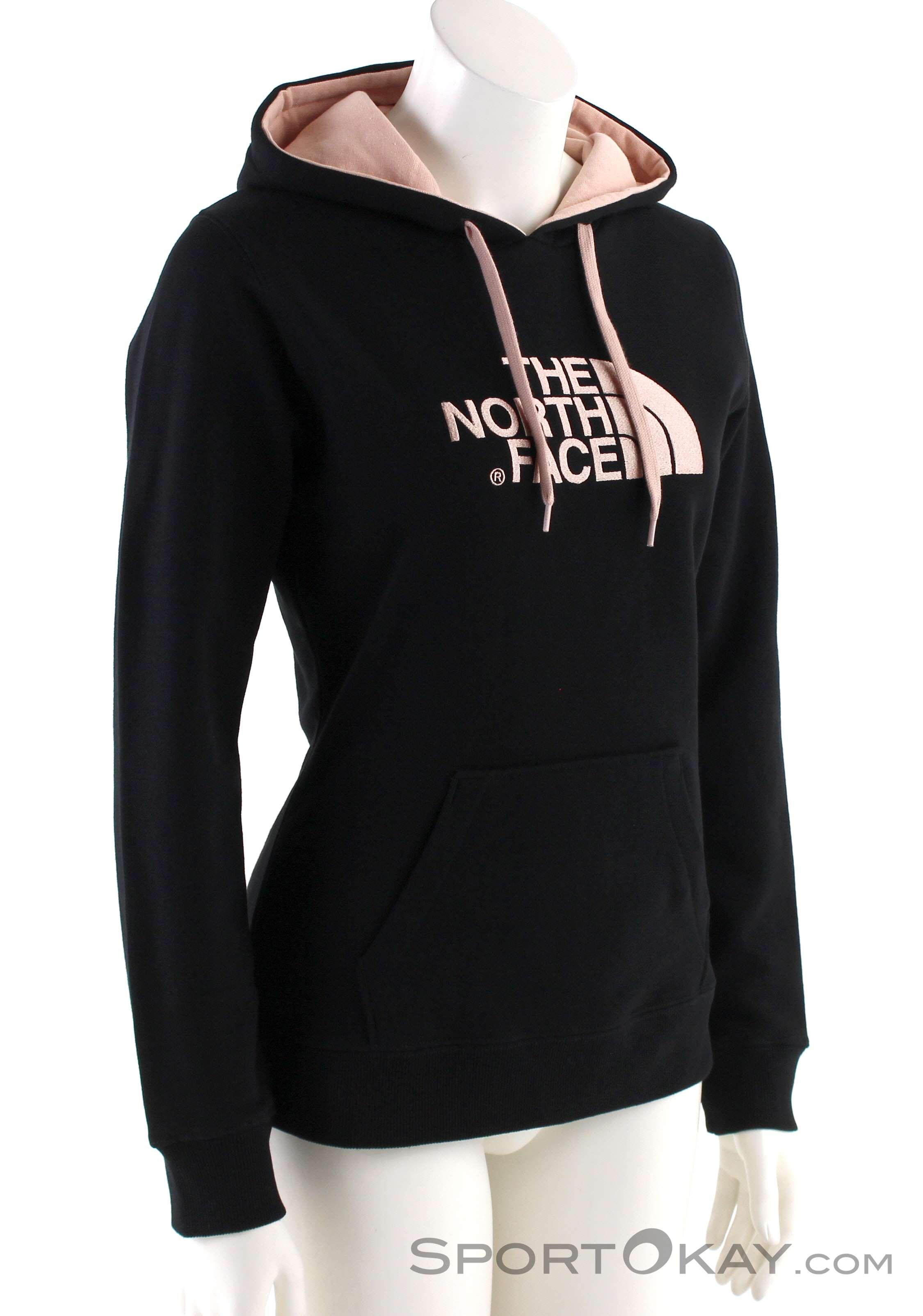 The North Face W Drew Peak Pull HD Damen Sweater-Schwarz-M