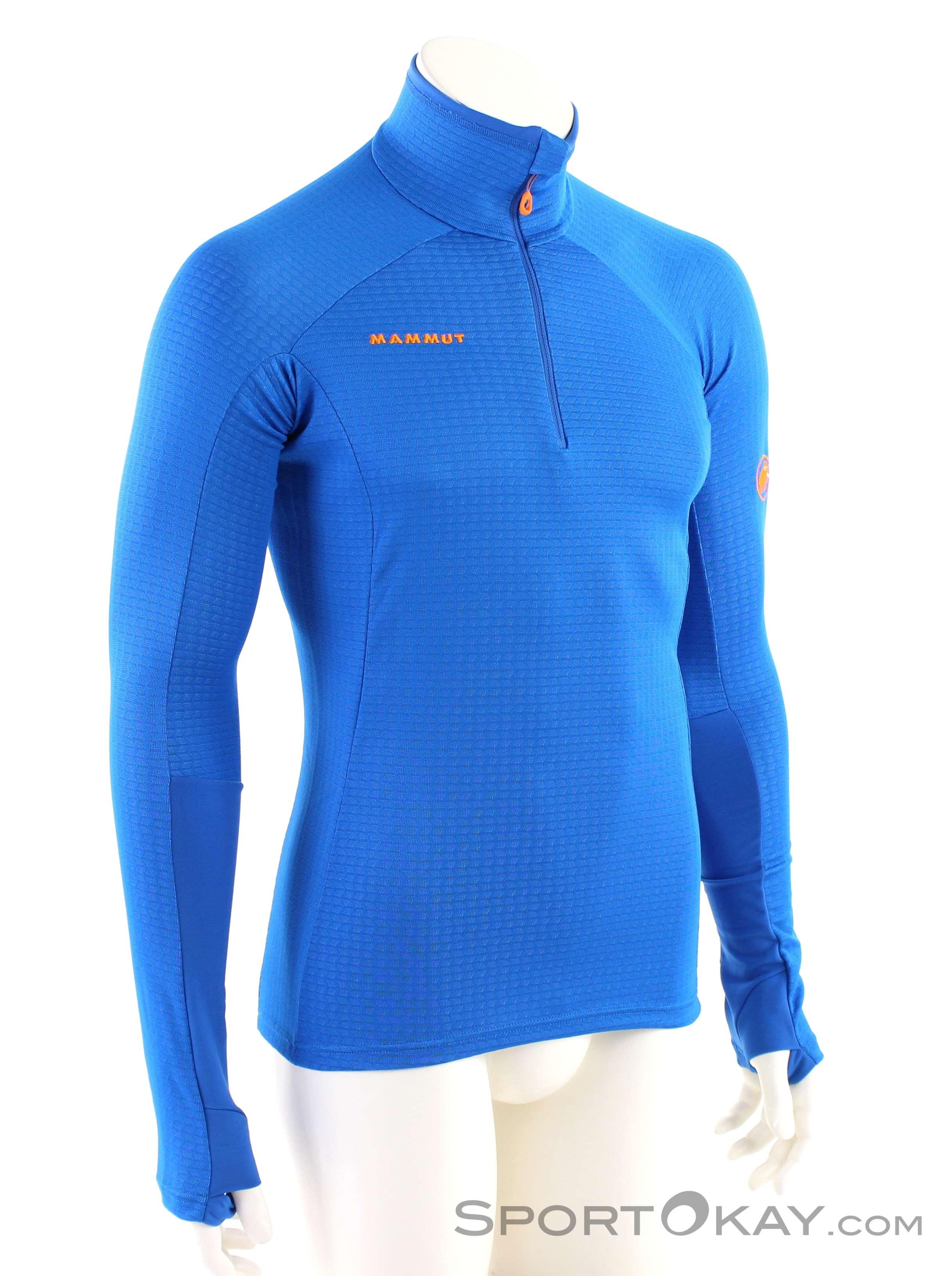 Mammut Moench Advanced HZ Herren Tourensweater-Blau-L