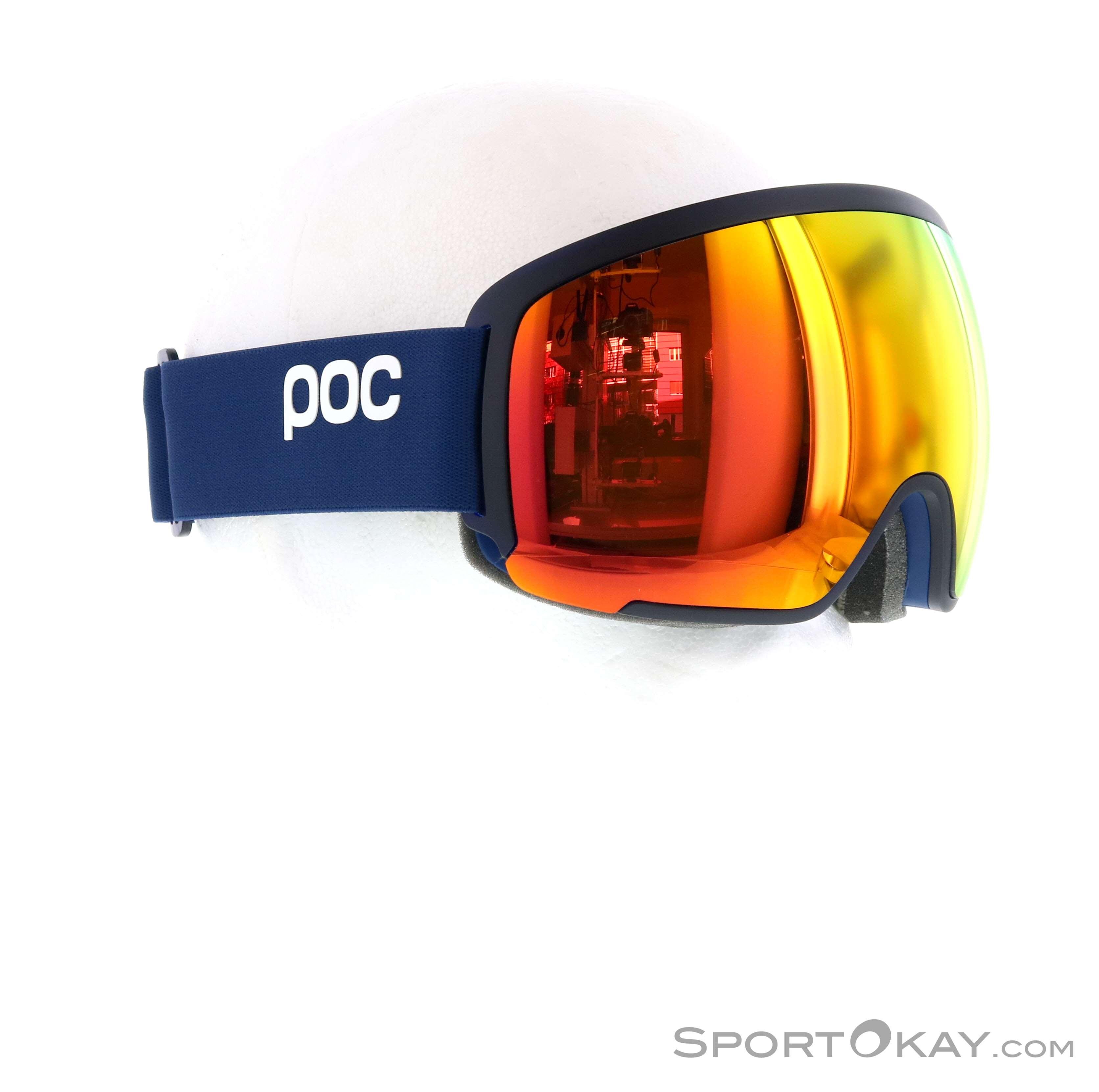 POC Orb Clarity Skibrille-Blau-One Size