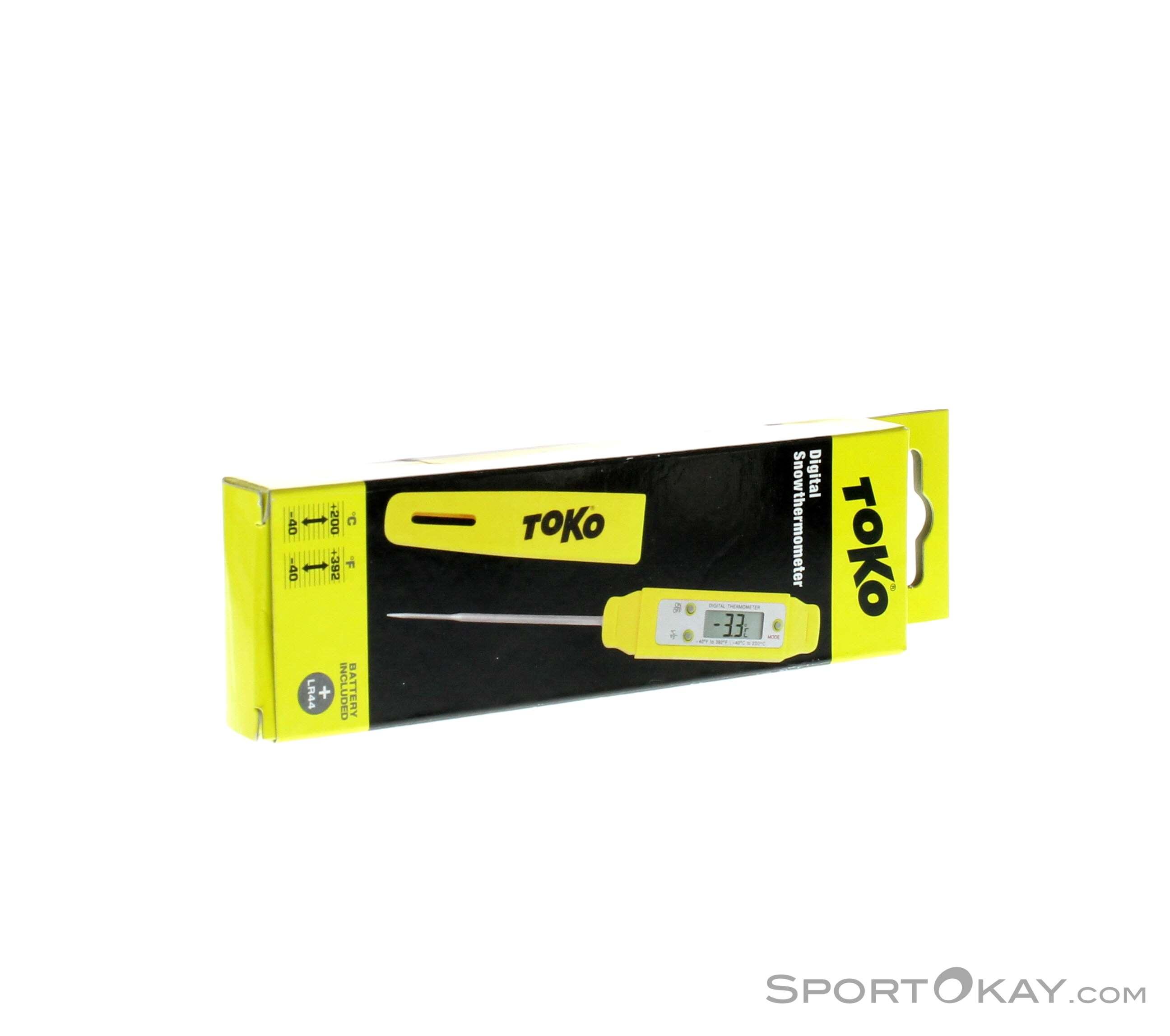 Toko Digital Schneethermometer-Gelb-One Size
