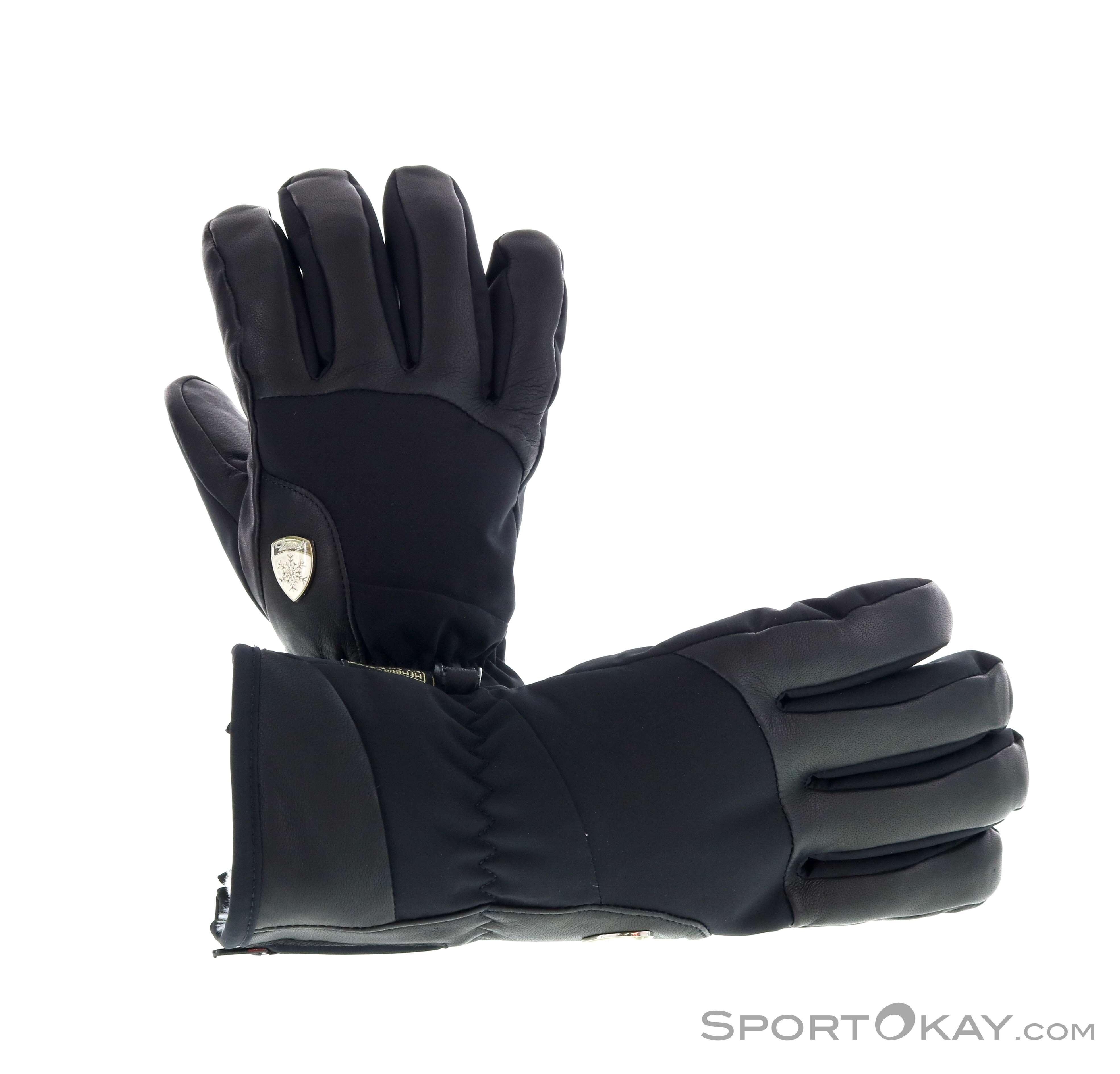 Level Iris Handschuhe-Schwarz-7,5