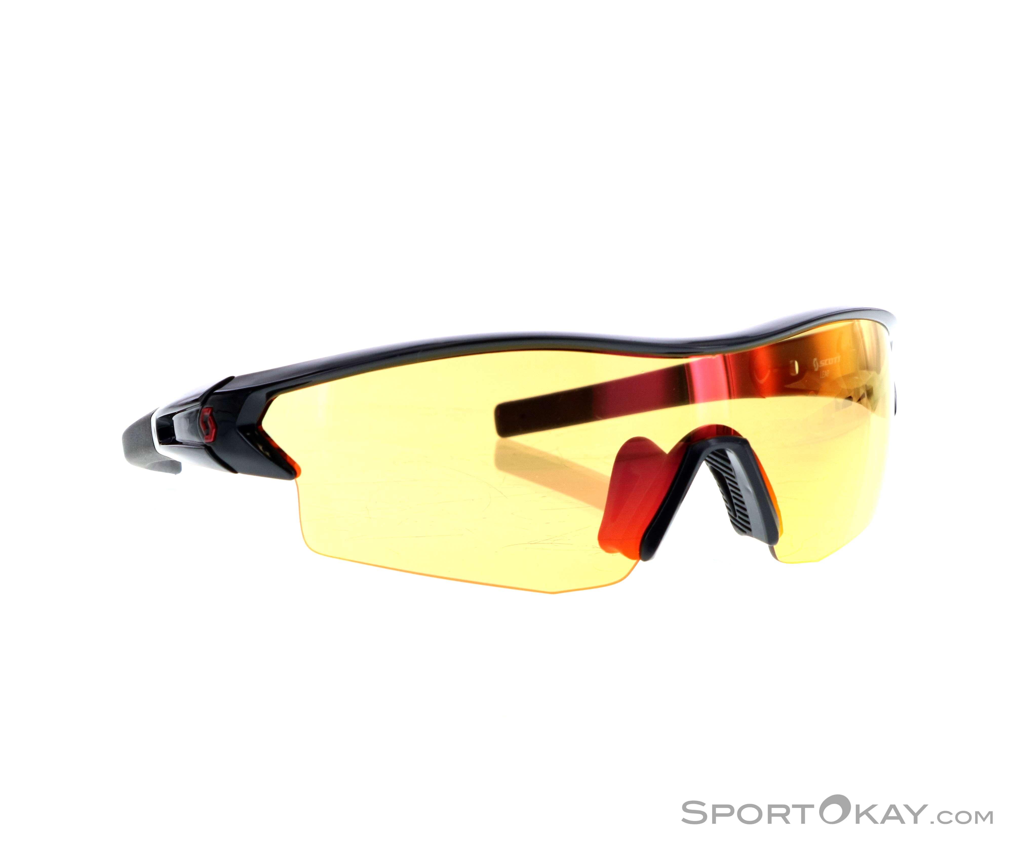 Scott Leap Sonnenbrille-Schwarz-One Size