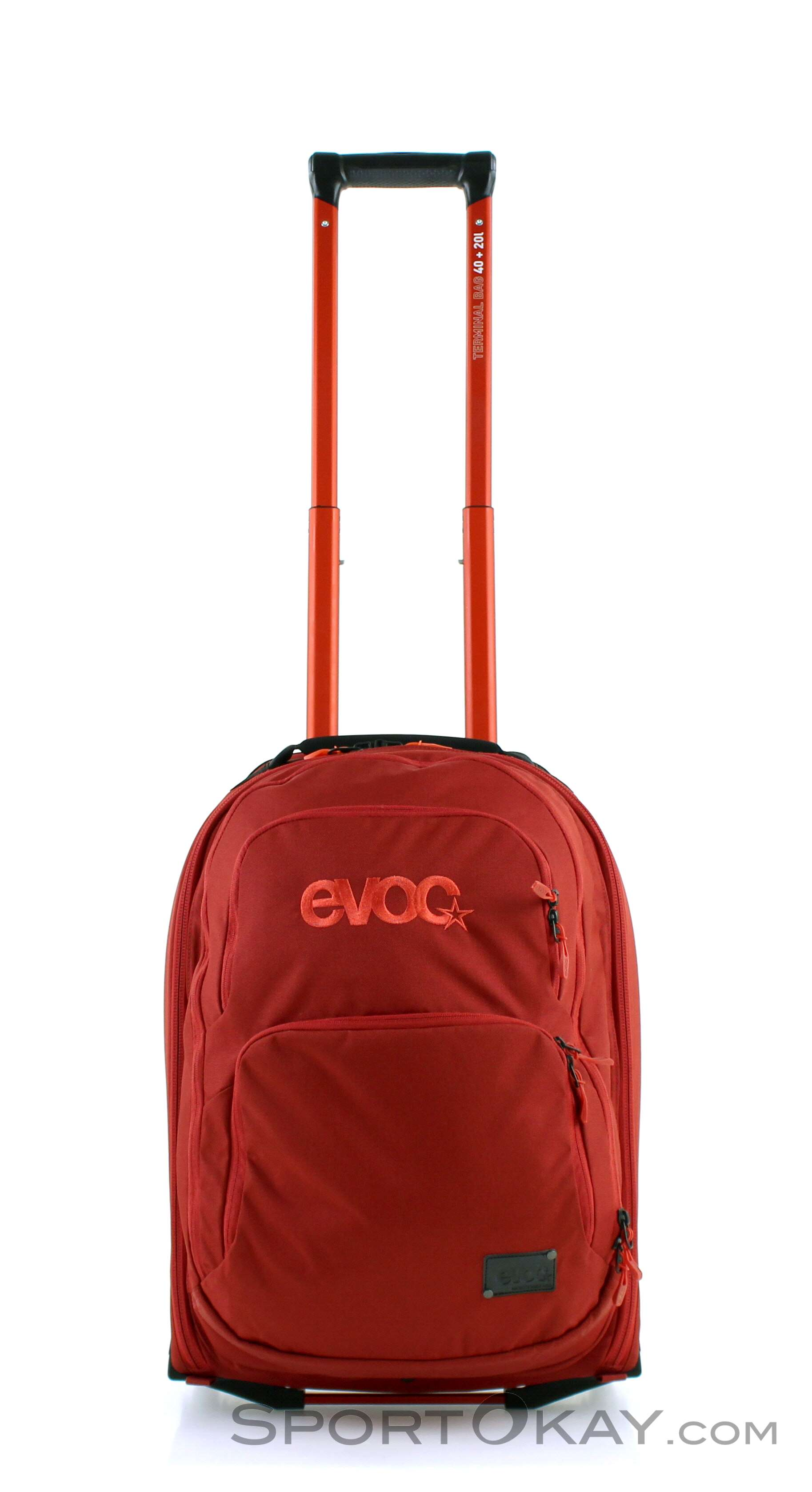 Evoc Terminal Bag 40+20l Rollkoffer-Rot-60