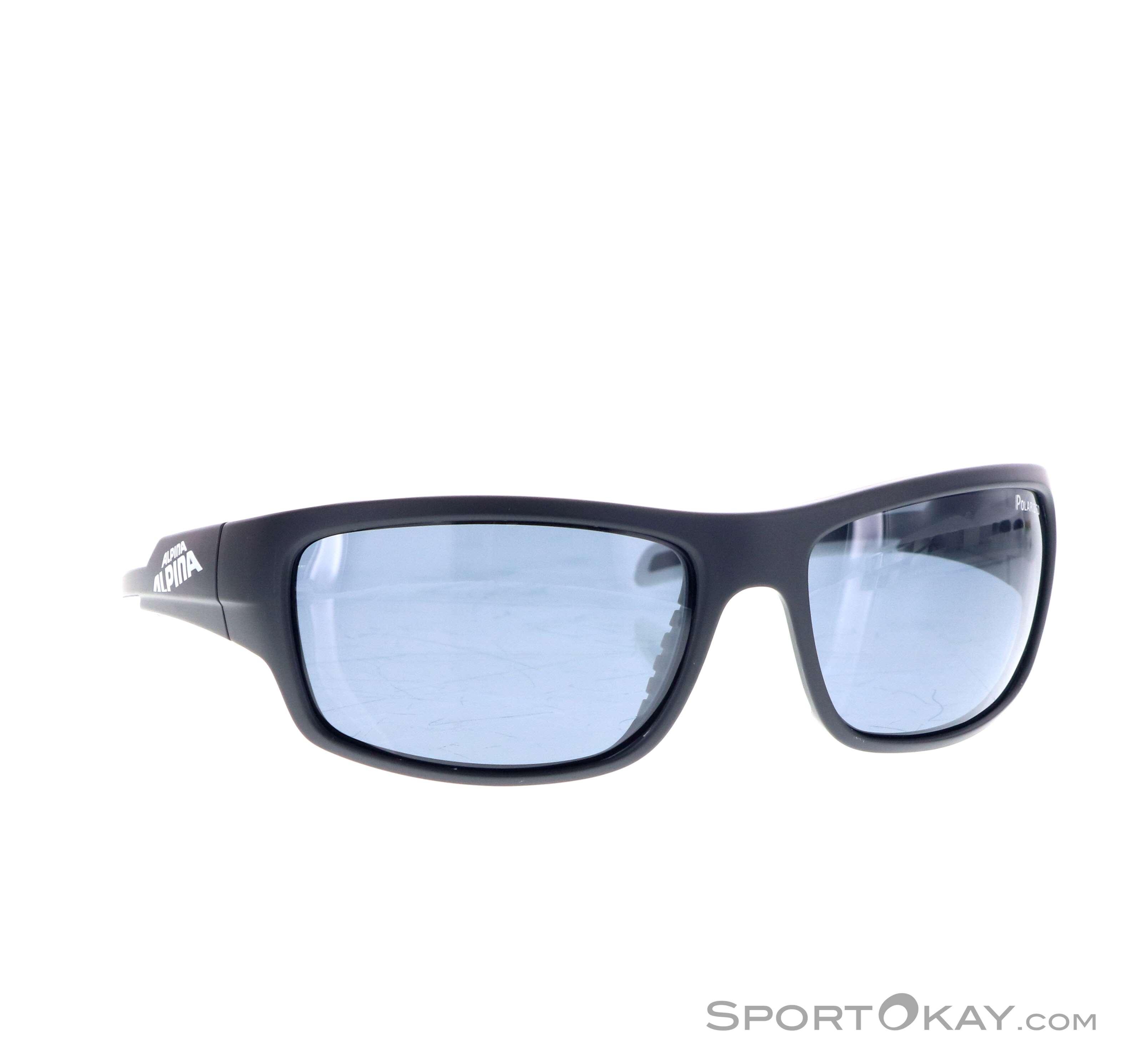 Alpina Testido P Sonnenbrille-Schwarz-One Size