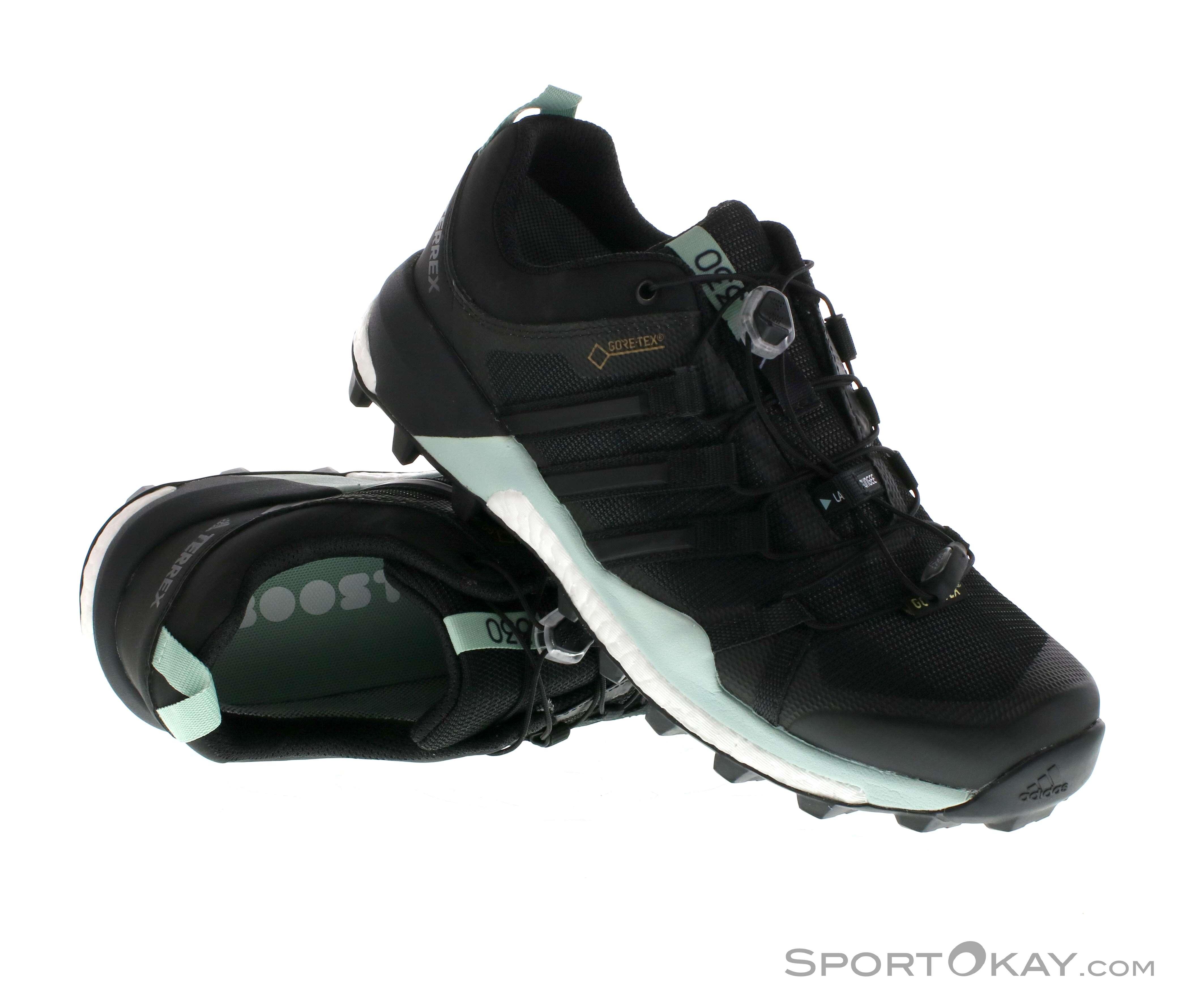 adidas Terrex Skychaser GTX Damen Traillaufschuhe Gore-Tex-Schwarz-4
