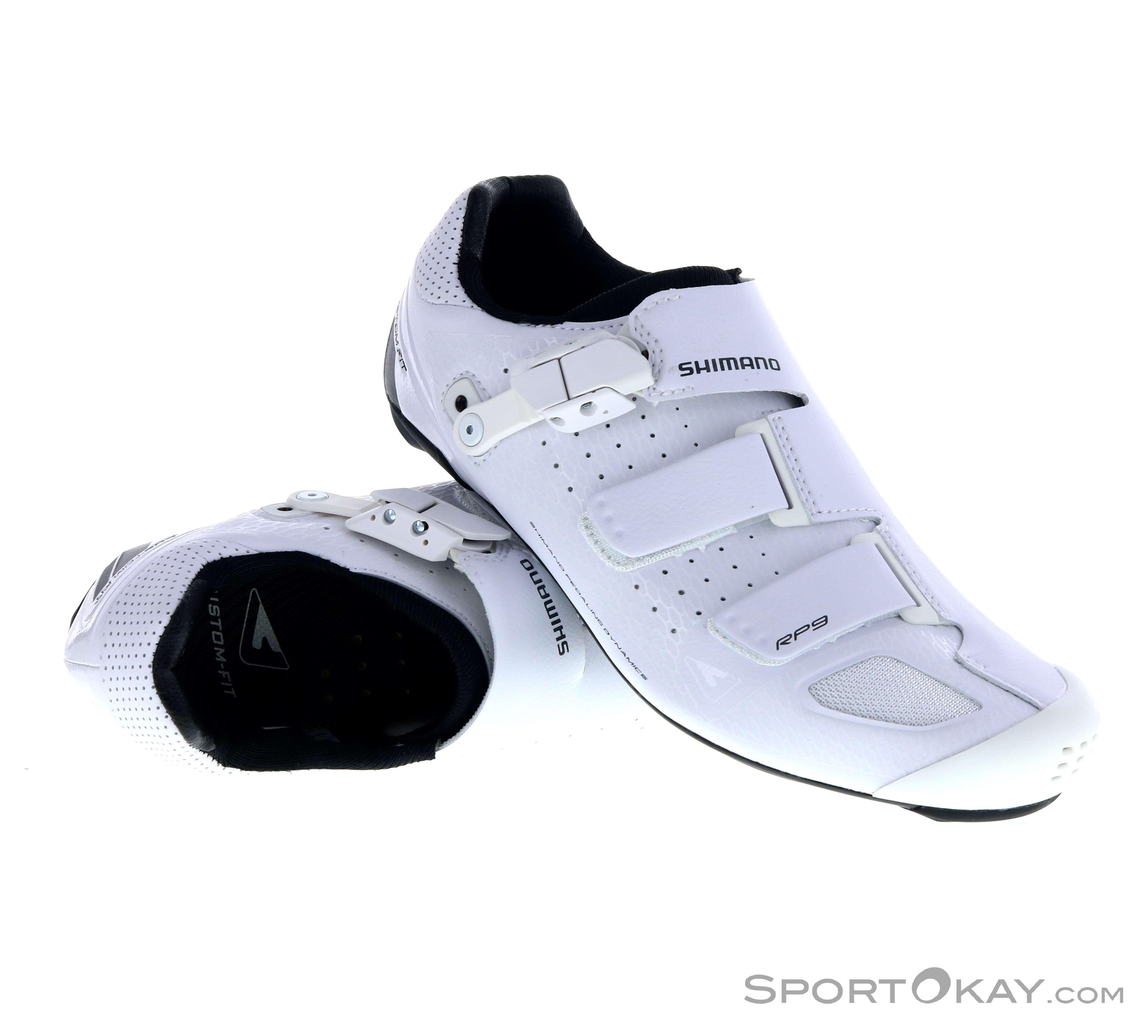 Shimano RP9W Race Herren Bikeschuhe-Weiss-43