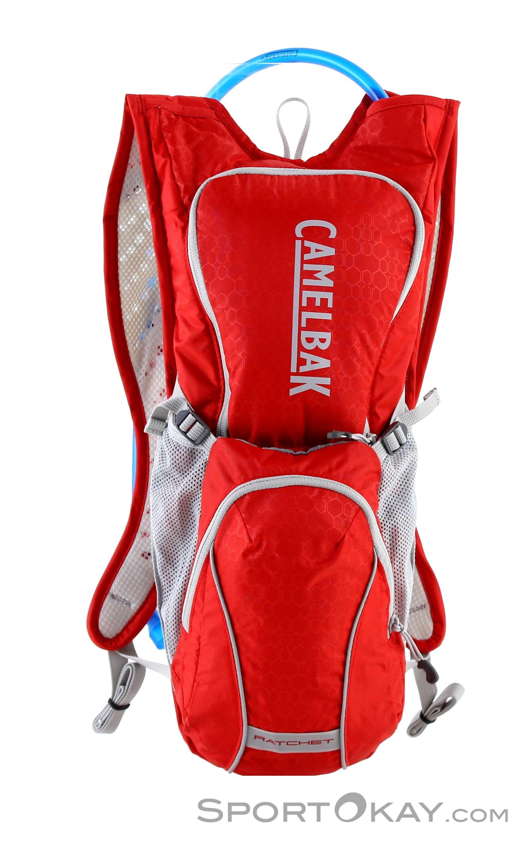 Camelbak Ratchet 3+3l Bikerucksack mit Trinksystem-Rot-6