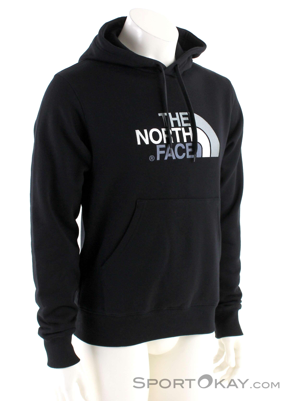 The North Face Drew Peak PLV HD Herren Sweater-Schwarz-S