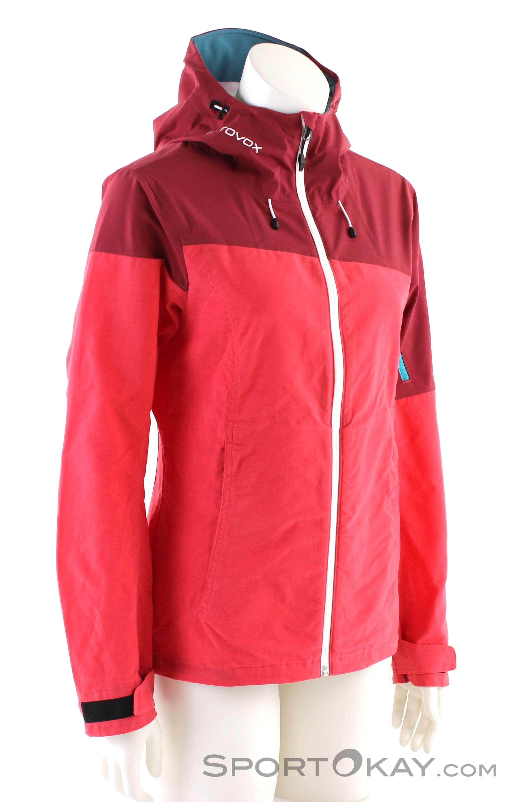 Ortovox Corvara Jacket Damen Outdoorjacke-Pink-Rosa-S