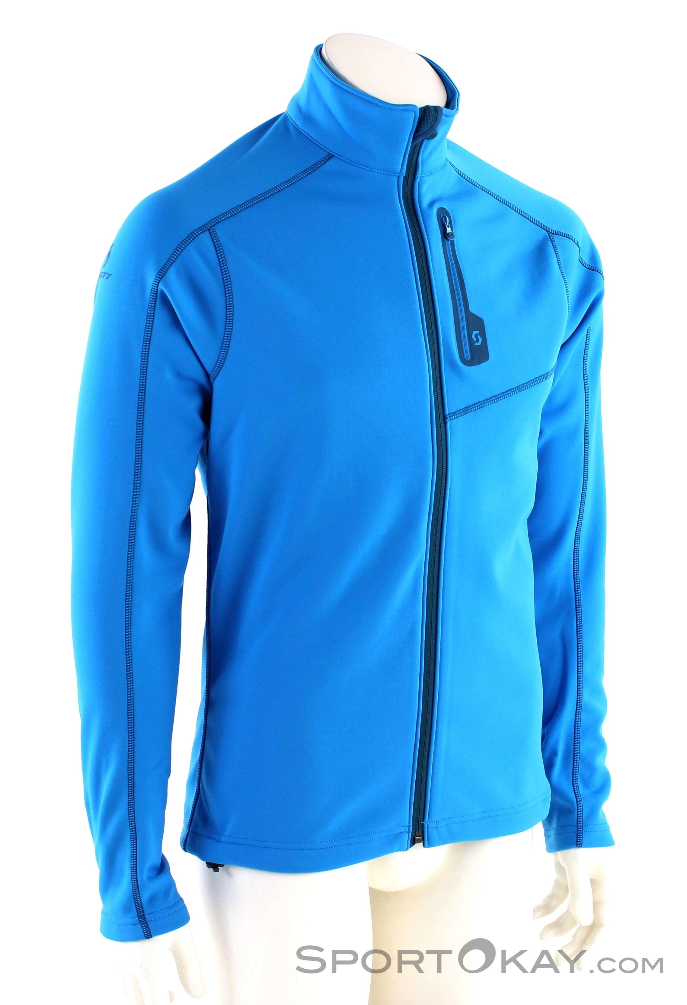 Scott Defined Tech Jacket Herren Tourensweater-Blau-XXL