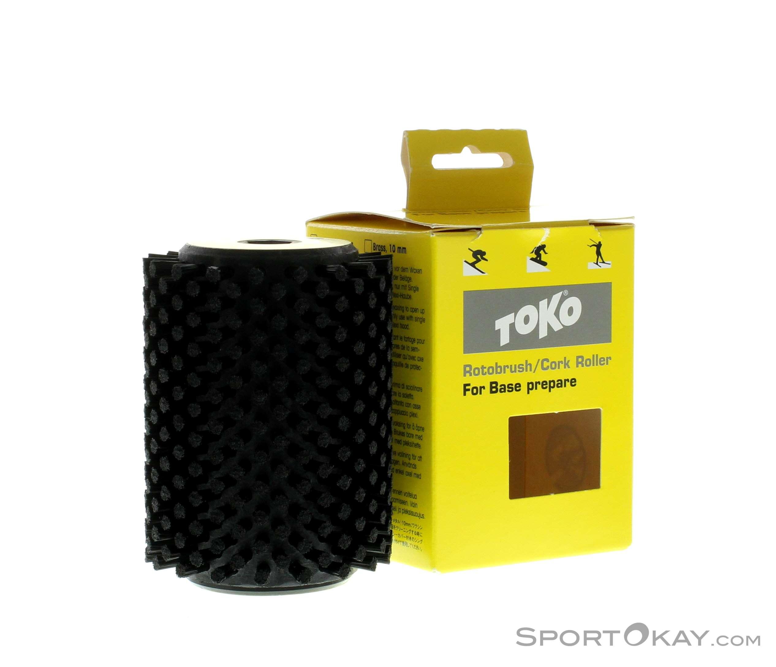 Toko Rotary Brush Nylon Black Werkzeug-Schwarz