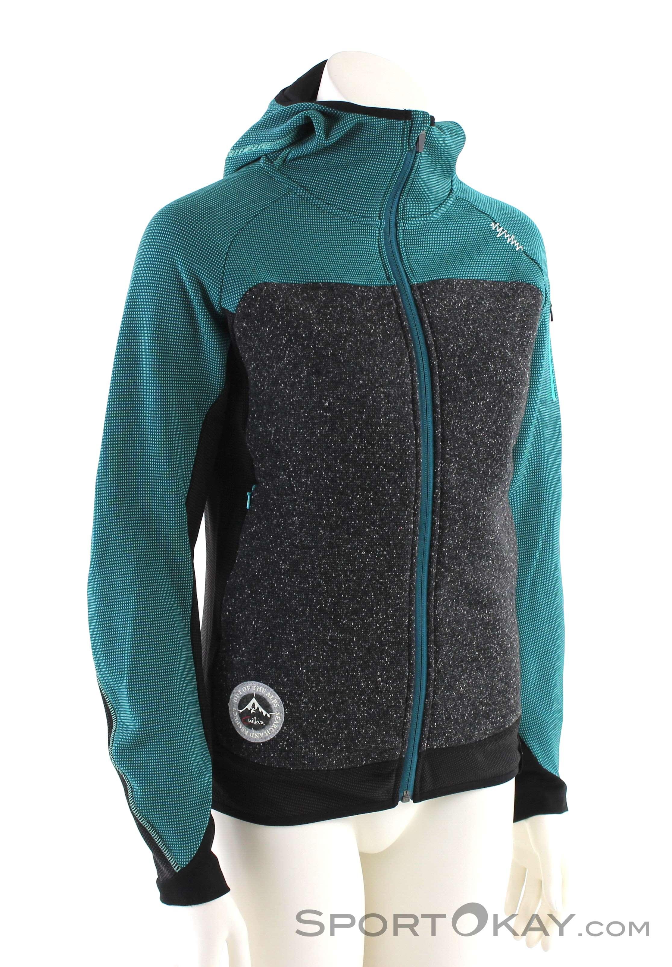 Chillaz Dolomite Damen Sweater-Schwarz-42