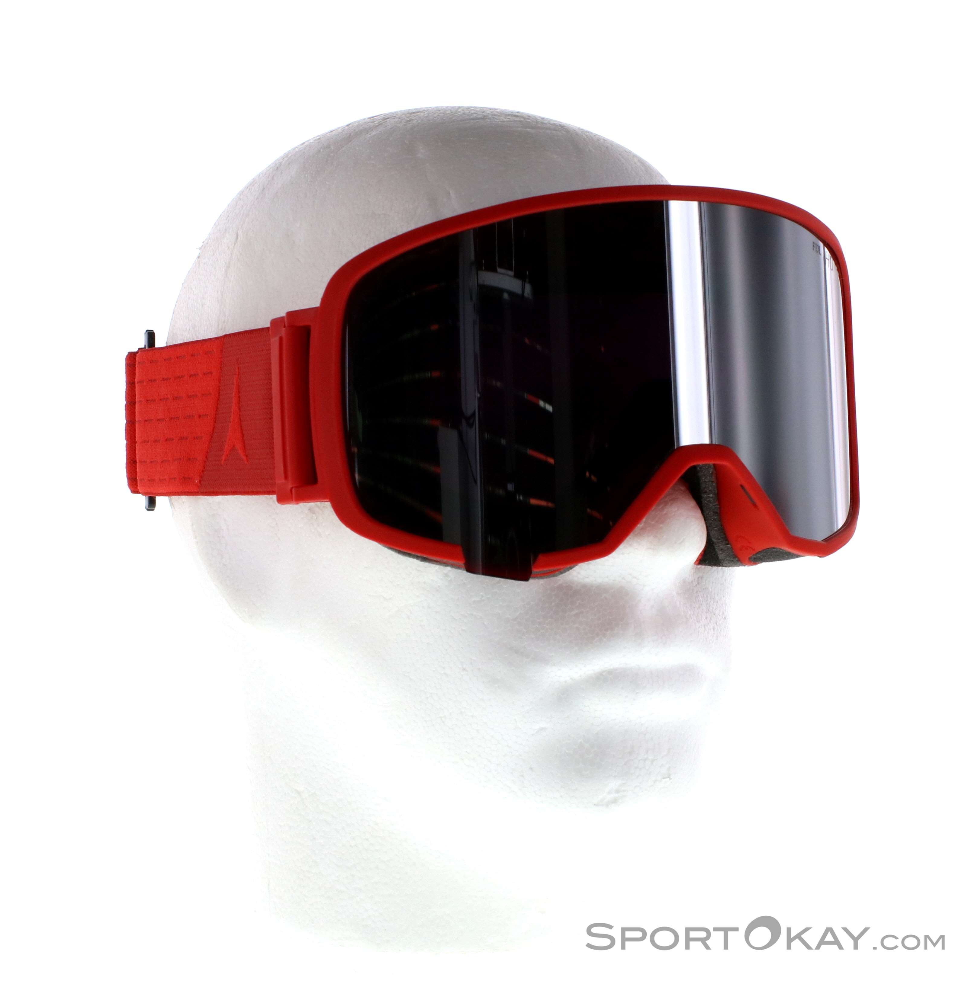 Atomic Revent L FDL HD Skibrille-Rot-One Size