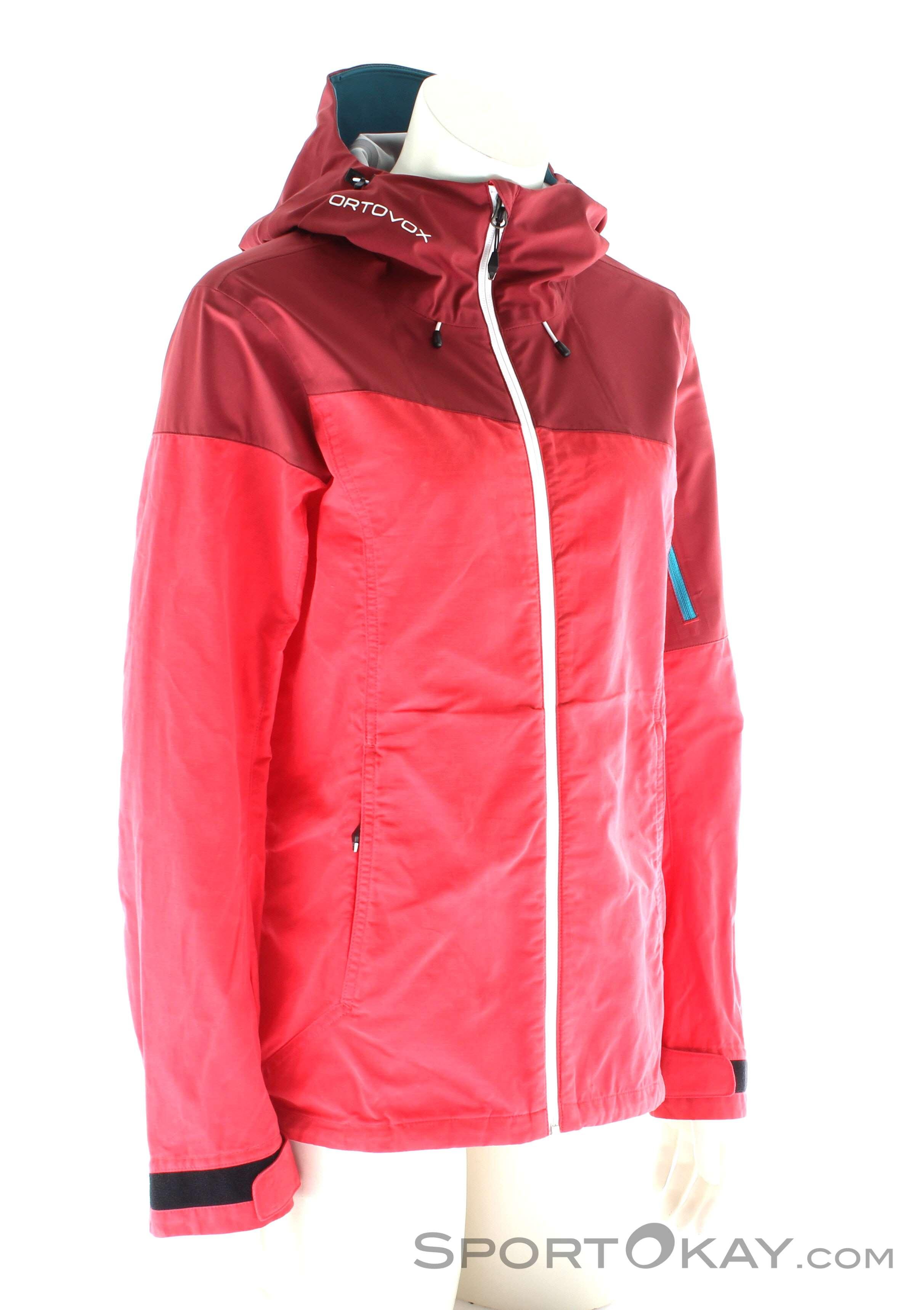 Ortovox Corvara Jacket Damen Outdoorjacke-Pink-Rosa-M