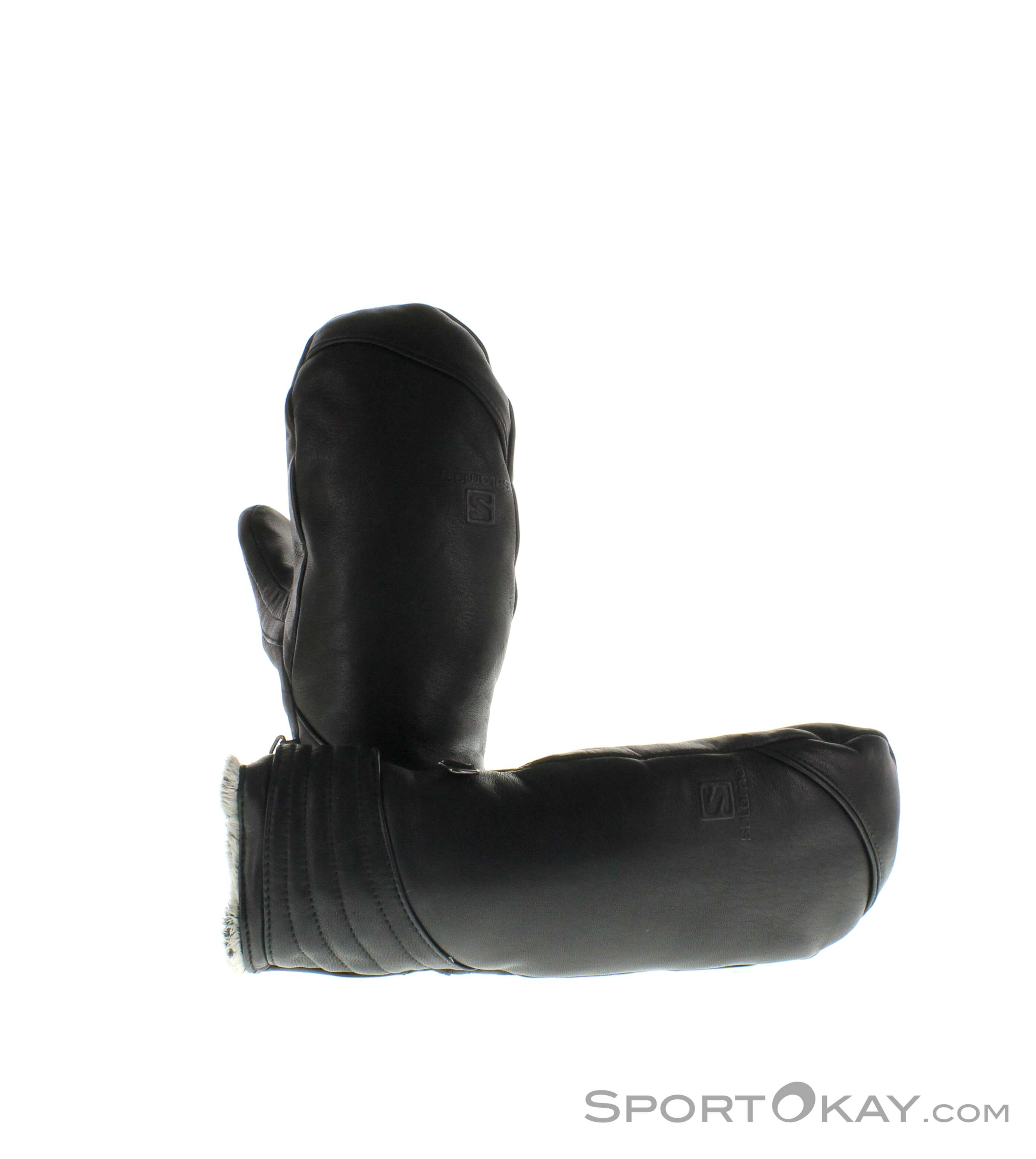Salomon Native Mitten Damen Handschuhe-Schwarz-L