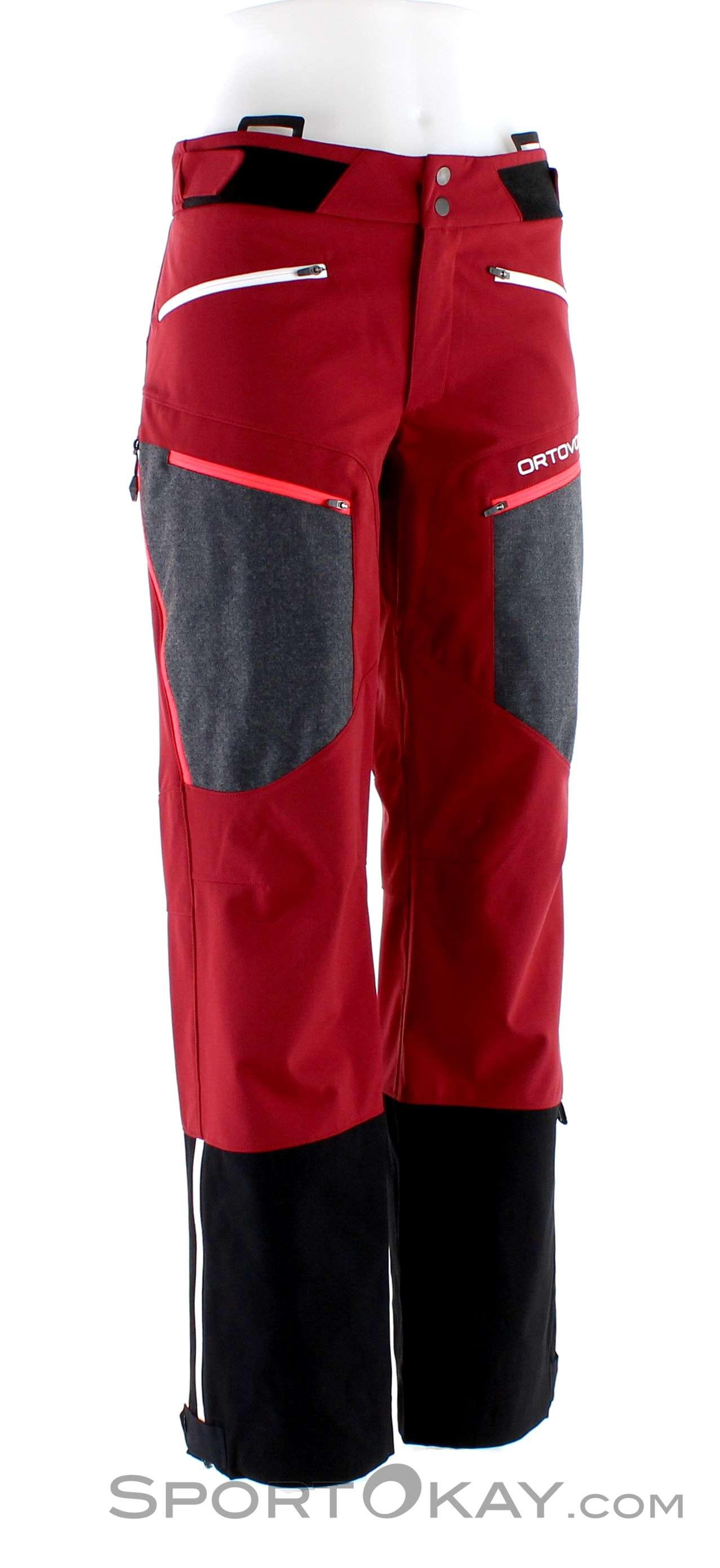 Ortovox Pordoi Pants Damen Tourenhose-Rot-L