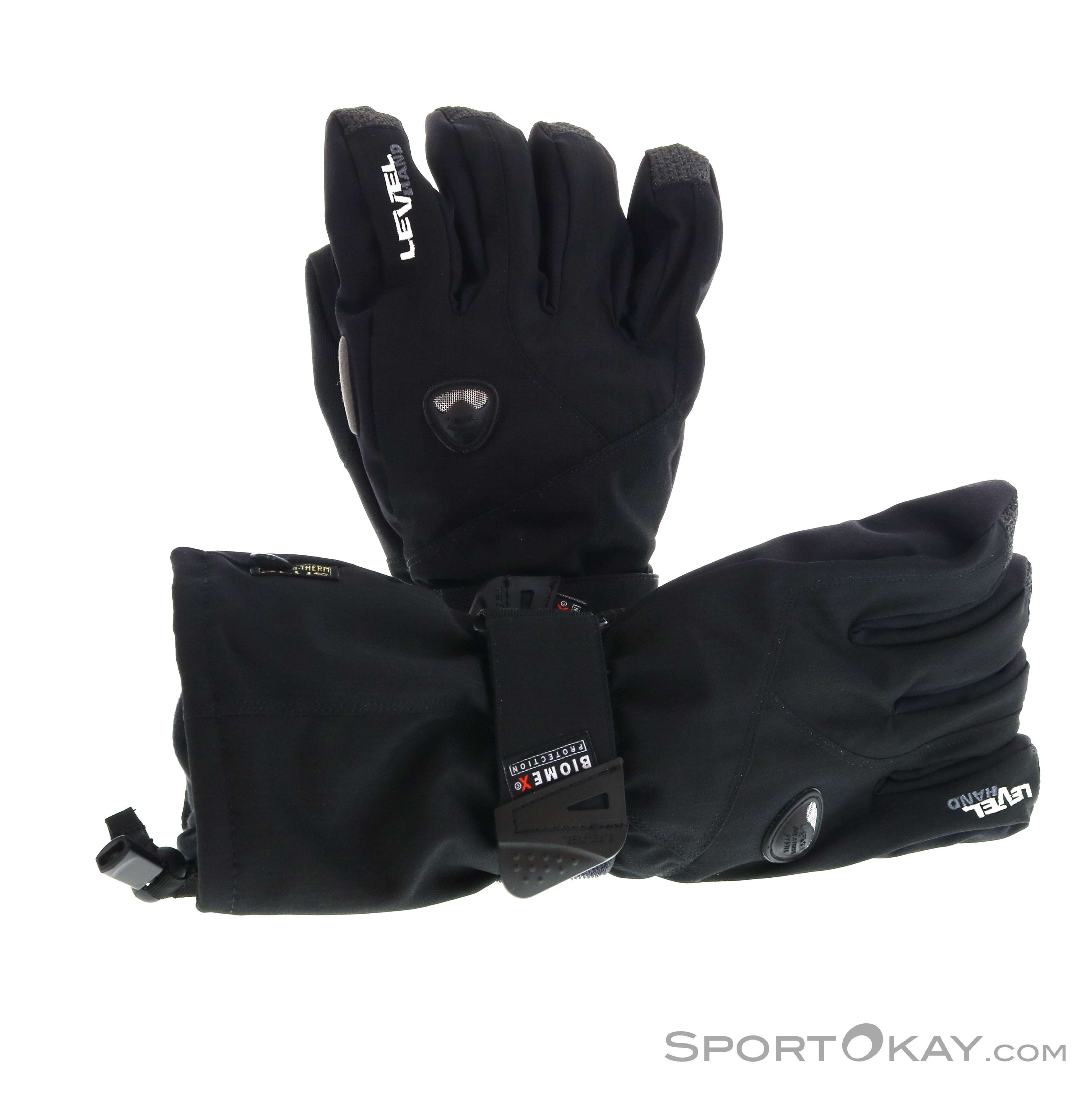 Level Fly Glove Handschuhe-Schwarz-10