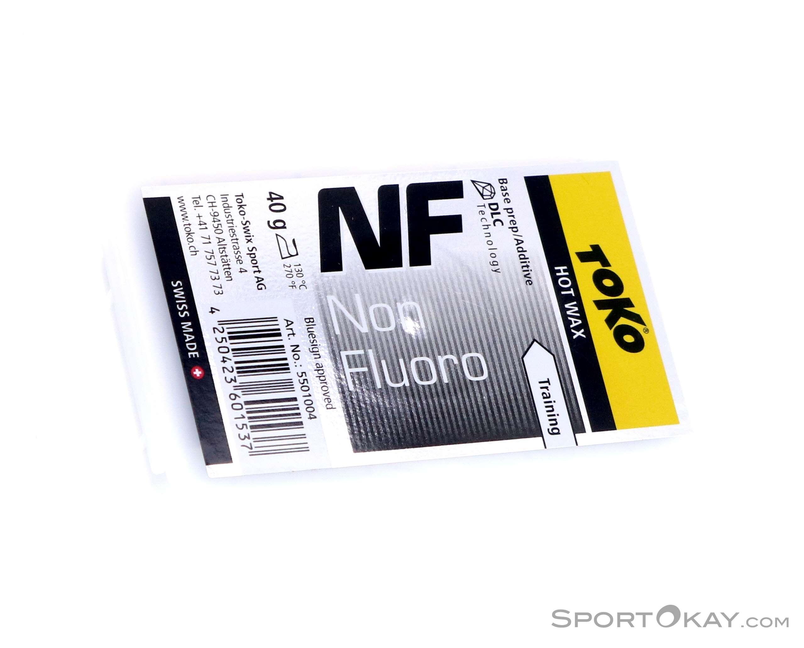 Toko NF Hot Wax black 40g Heisswachs-Schwarz-40