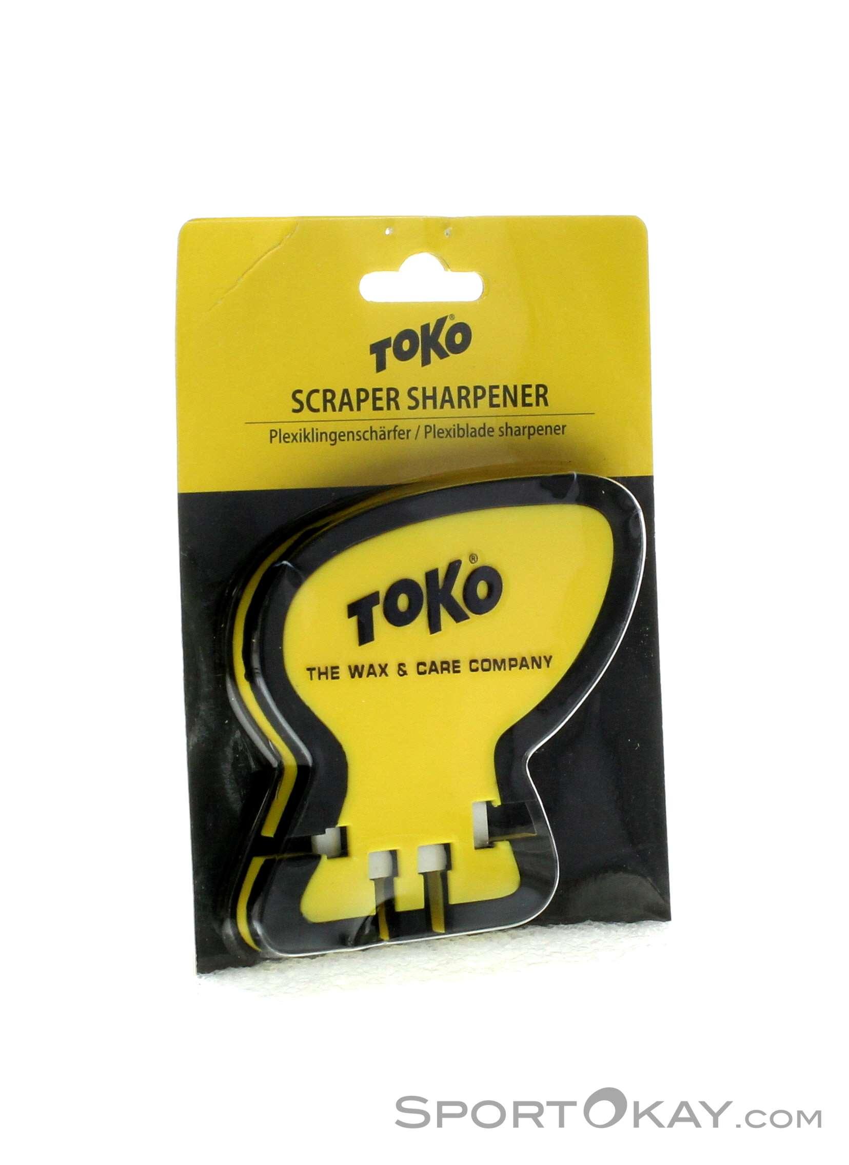 Toko Scraper Sharpener Werkzeug-Gelb