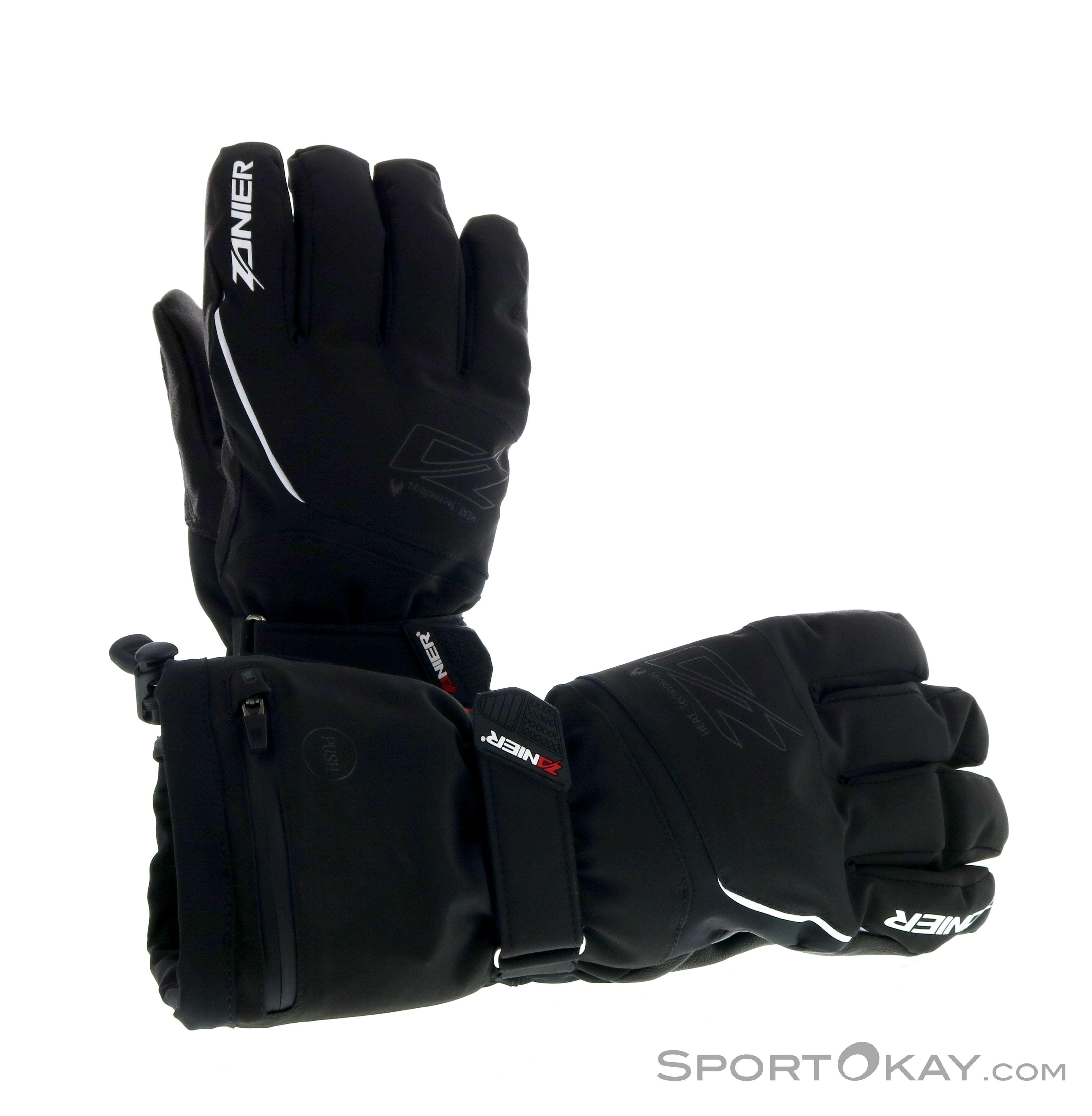 Zanier Heat ZX 3.0 Herren Handschuhe-Schwarz-M