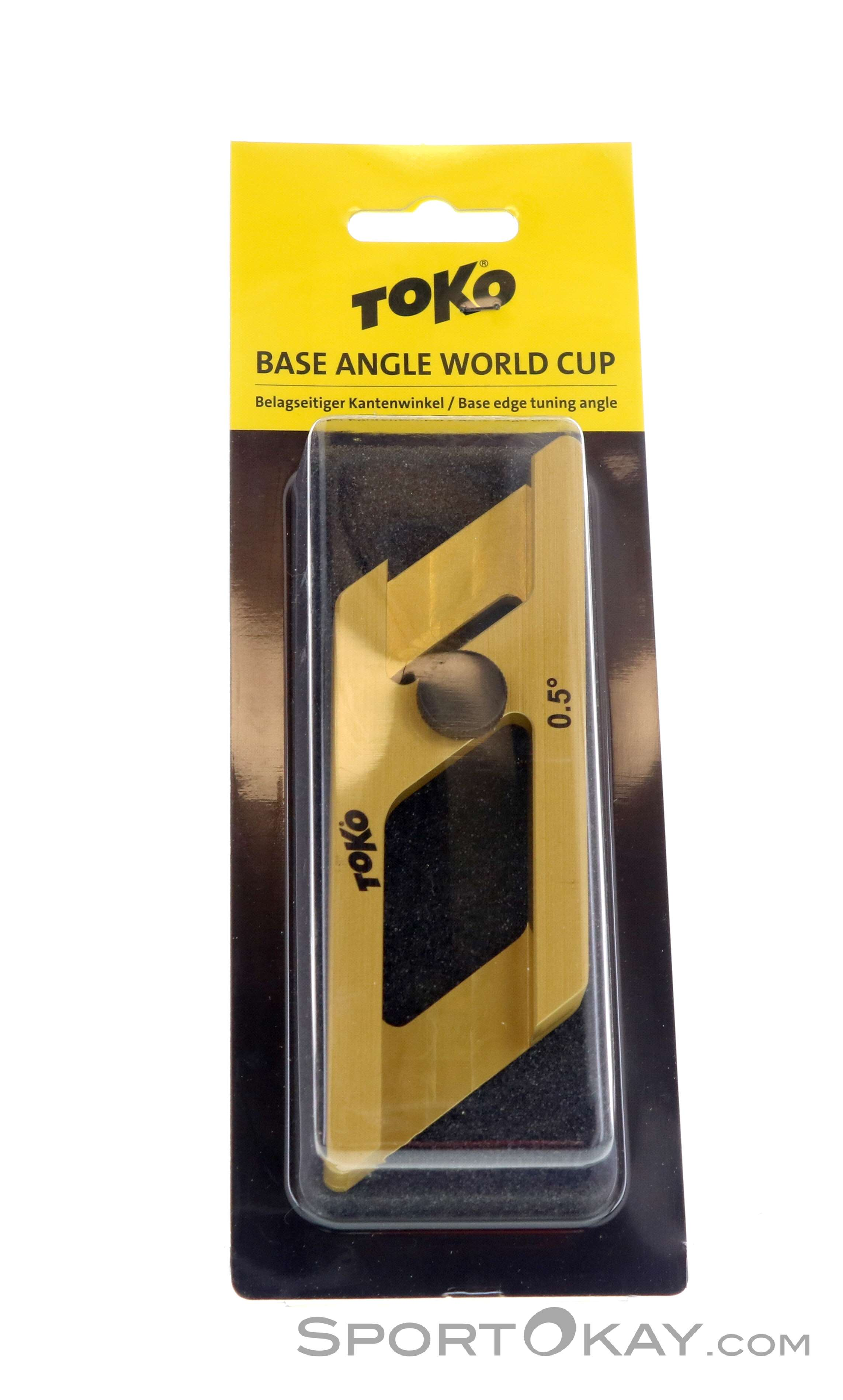 Toko Base Angle World Cup 0,5° Kantenschleifer-Gelb-One Size
