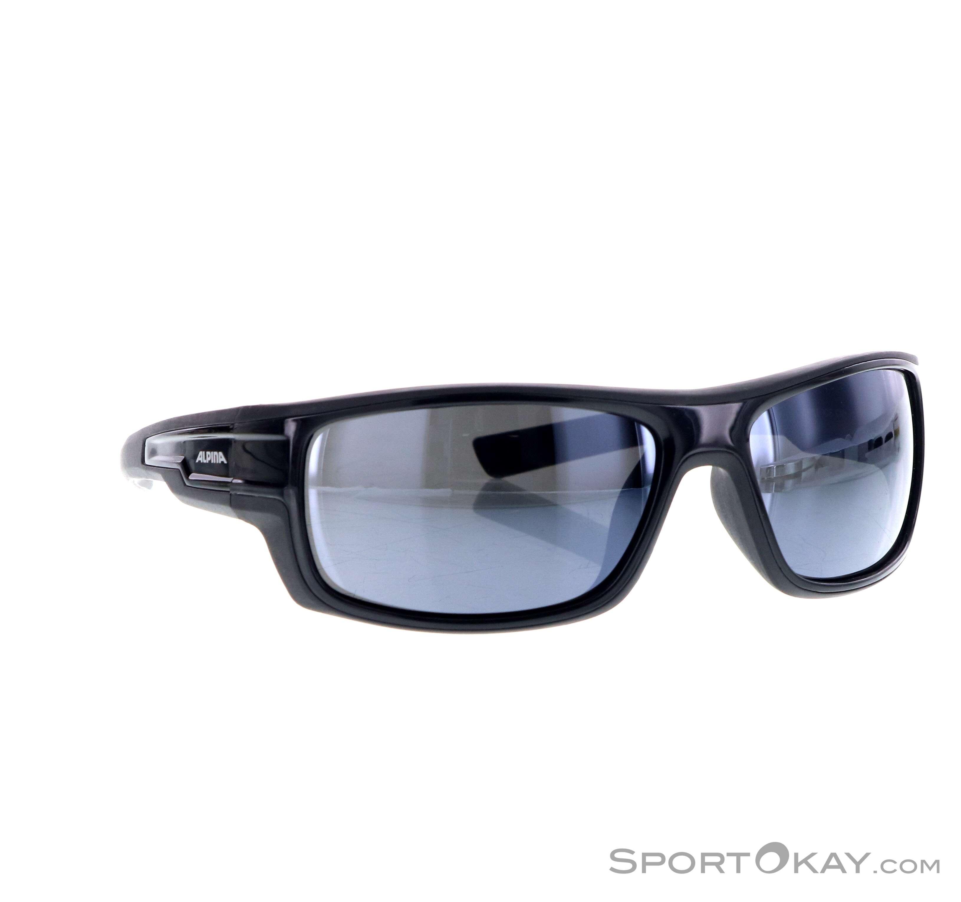 Alpina Chill Ice CM+ Sonnenbrille-Schwarz-One Size