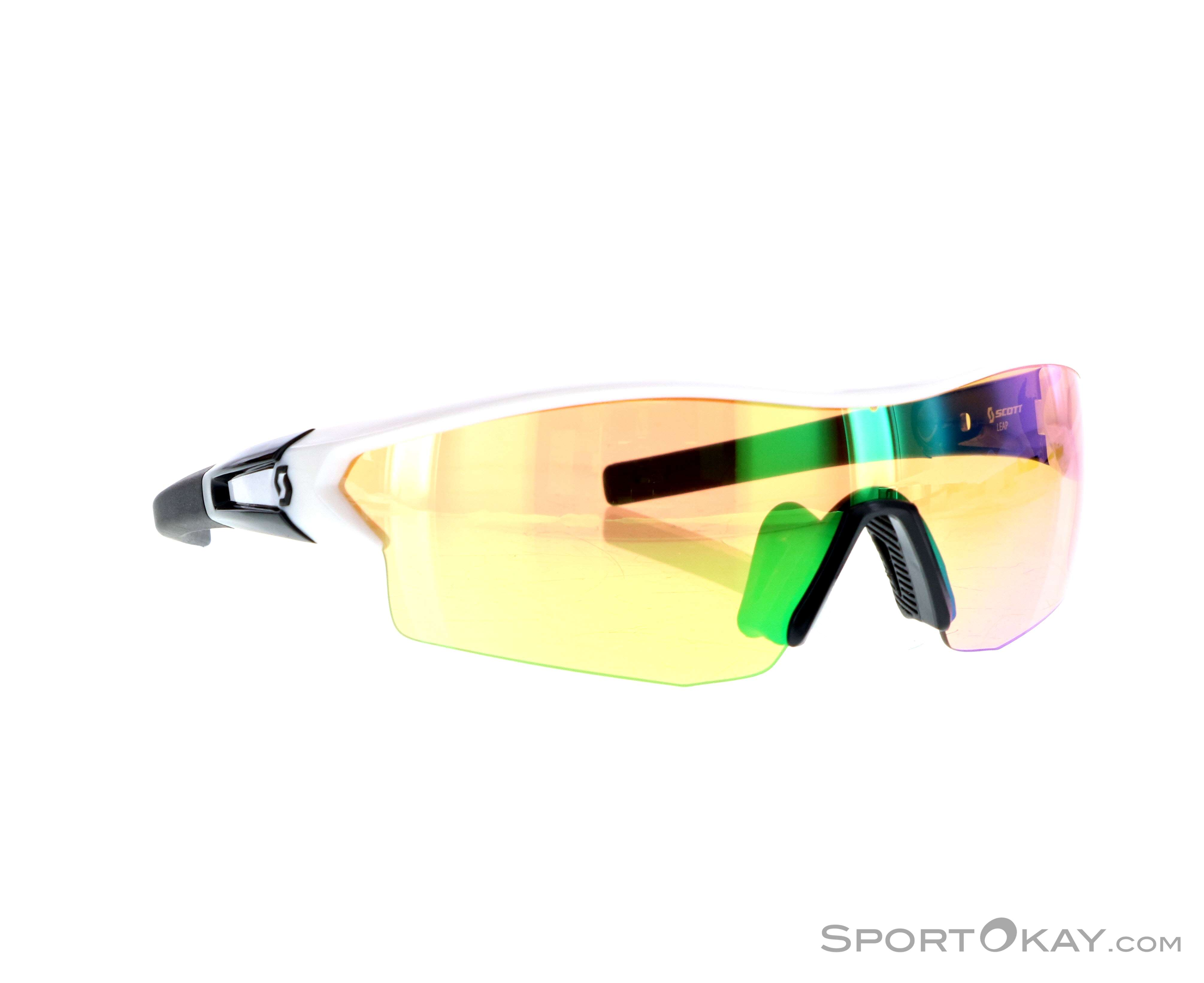 Scott Leap Sonnenbrille-Weiss-One Size