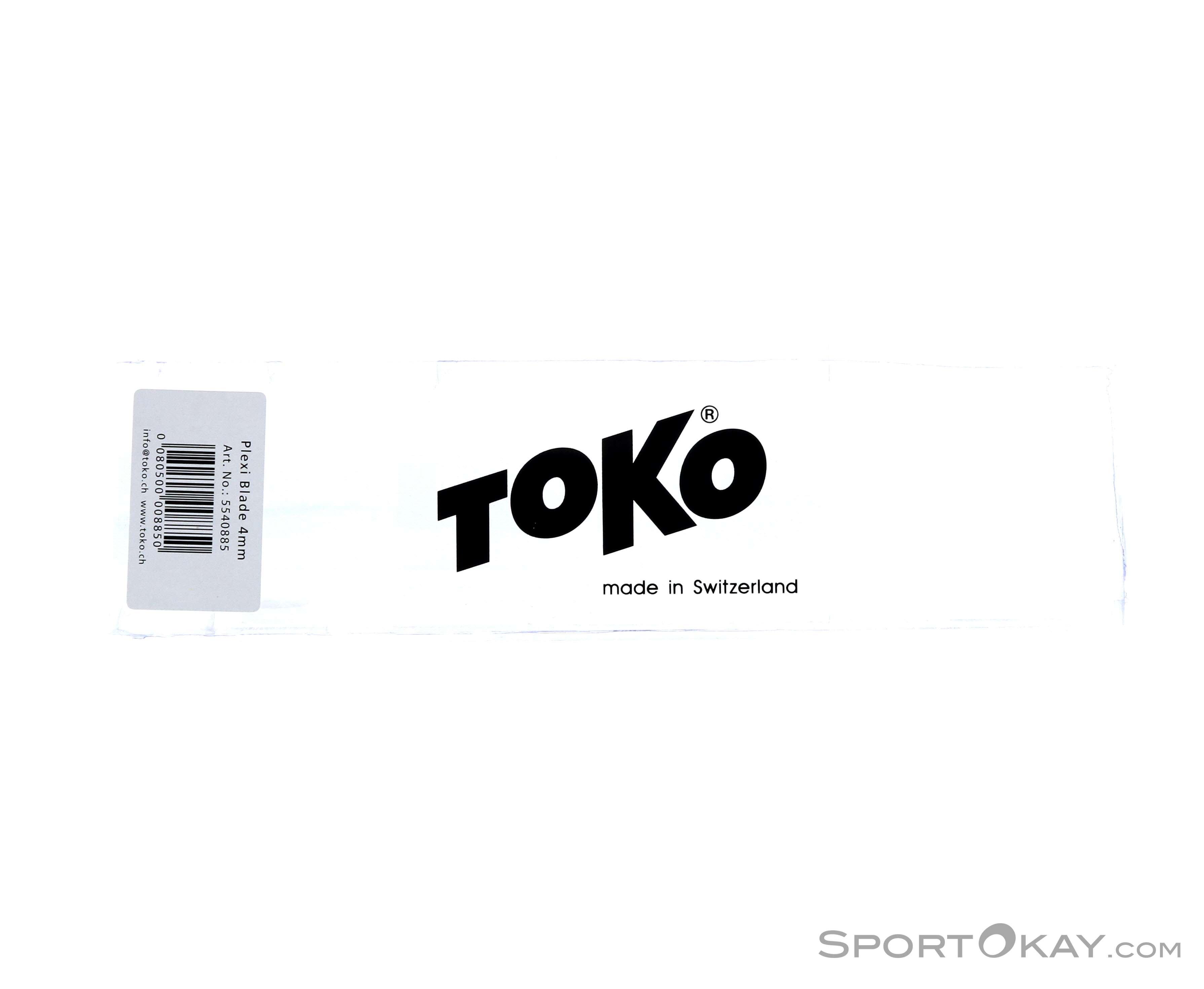Toko Plexi Blade 4mm Werkzeug-Weiss-One Size