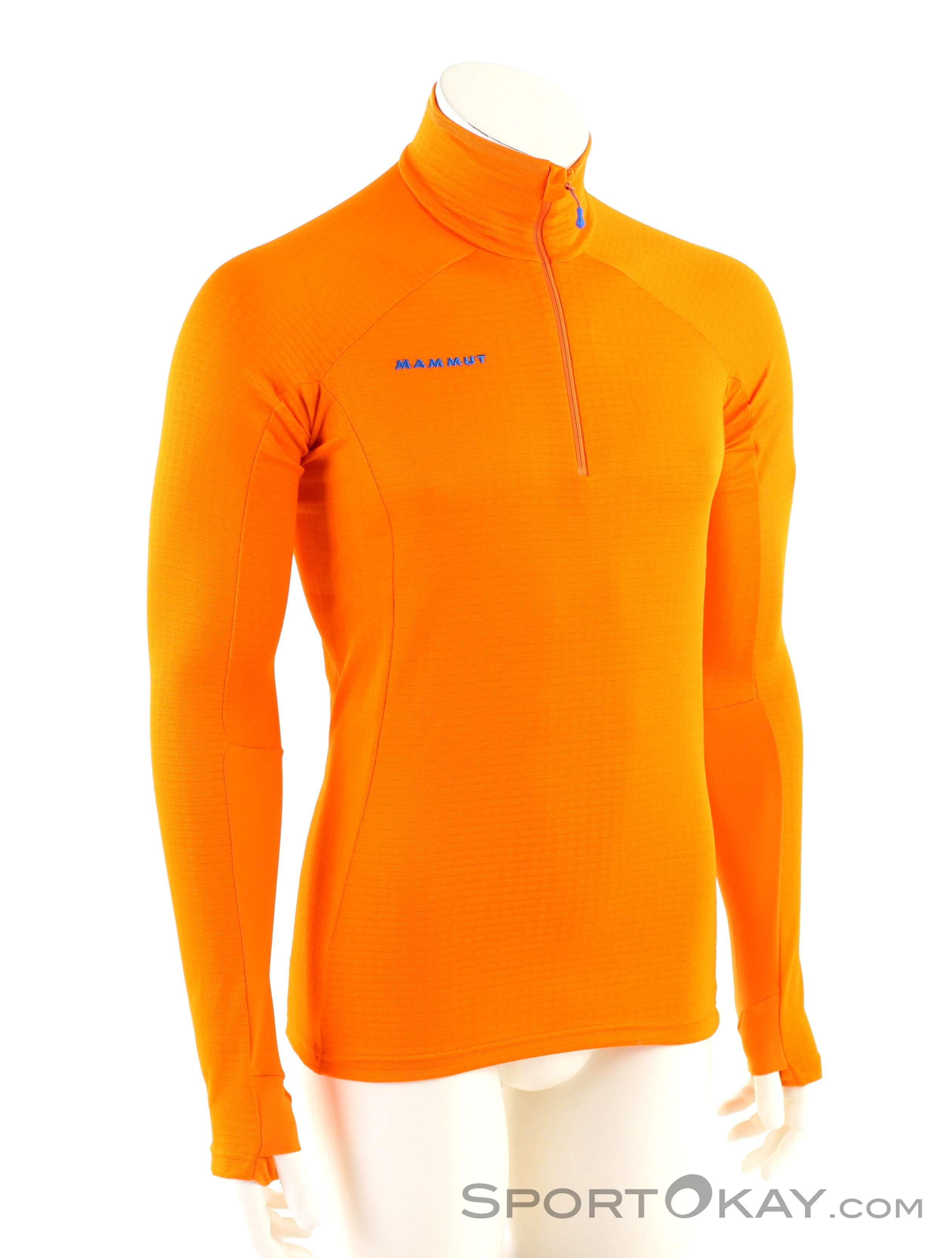 Mammut Moench Advanced HZ Herren Tourensweater-Orange-L