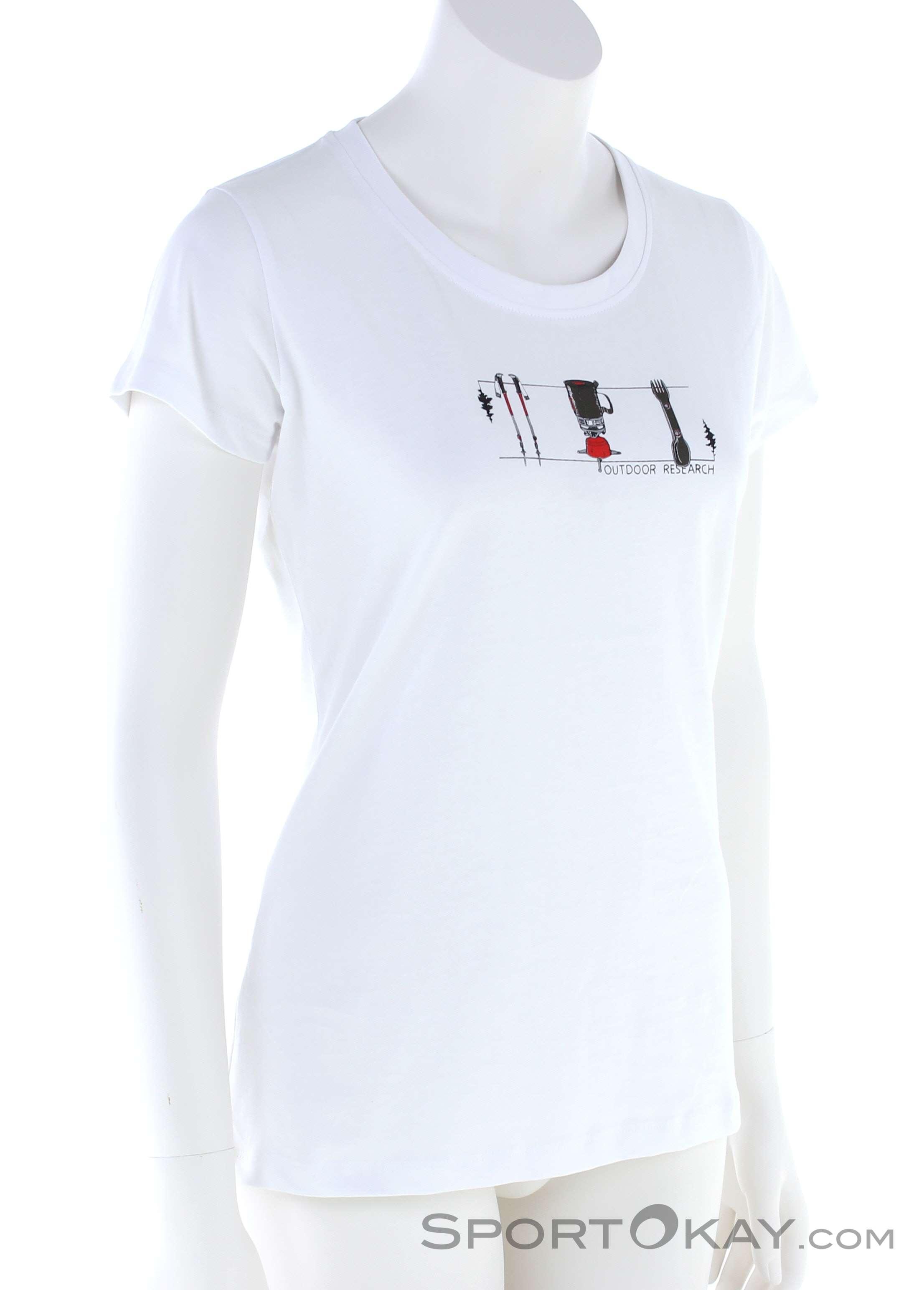 Outdoor Research Toolkit SS Damen T-Shirt-Weiss-S