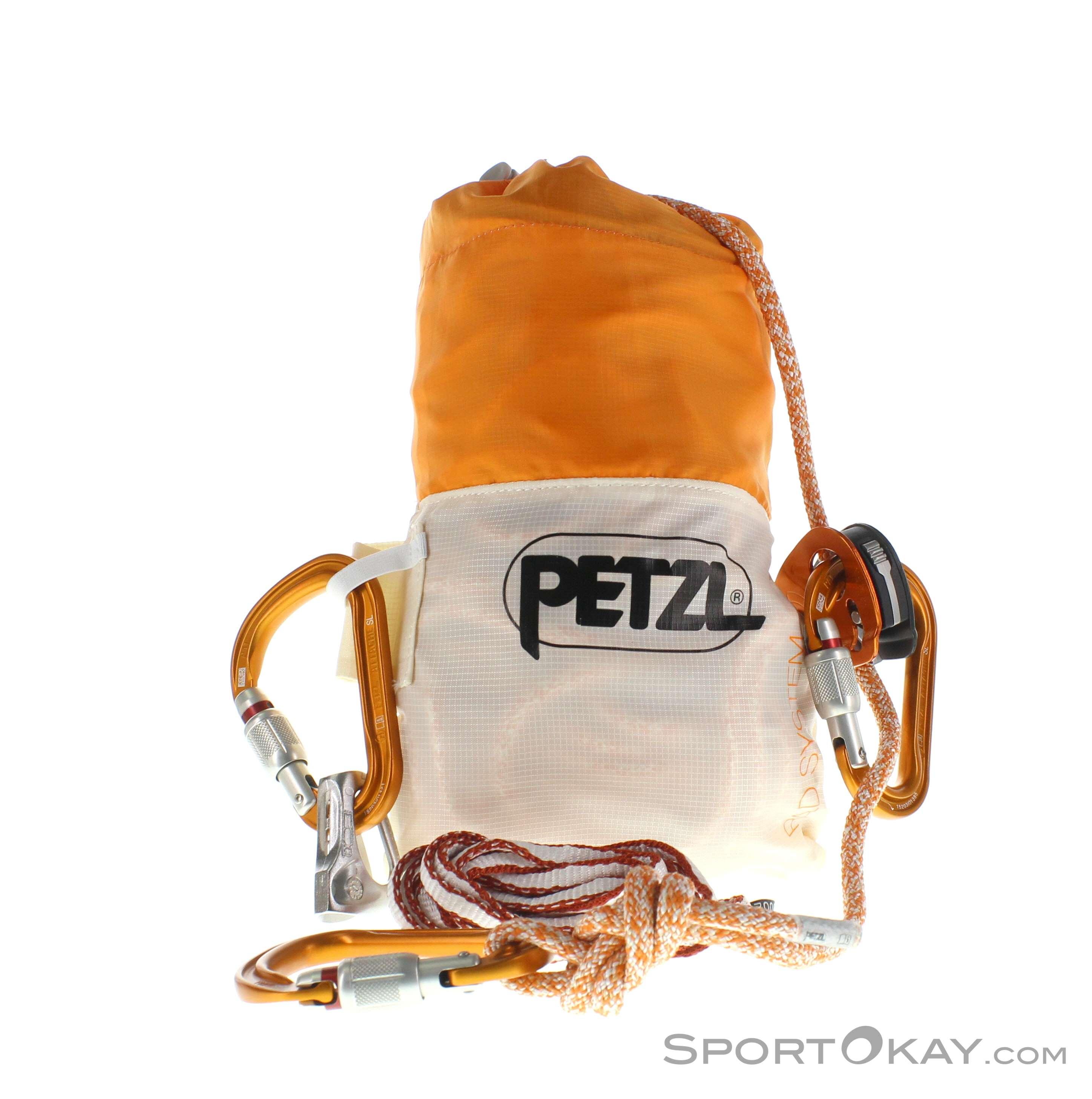 Petzl Rad System Spaltenbergungsset-Orange-One Size