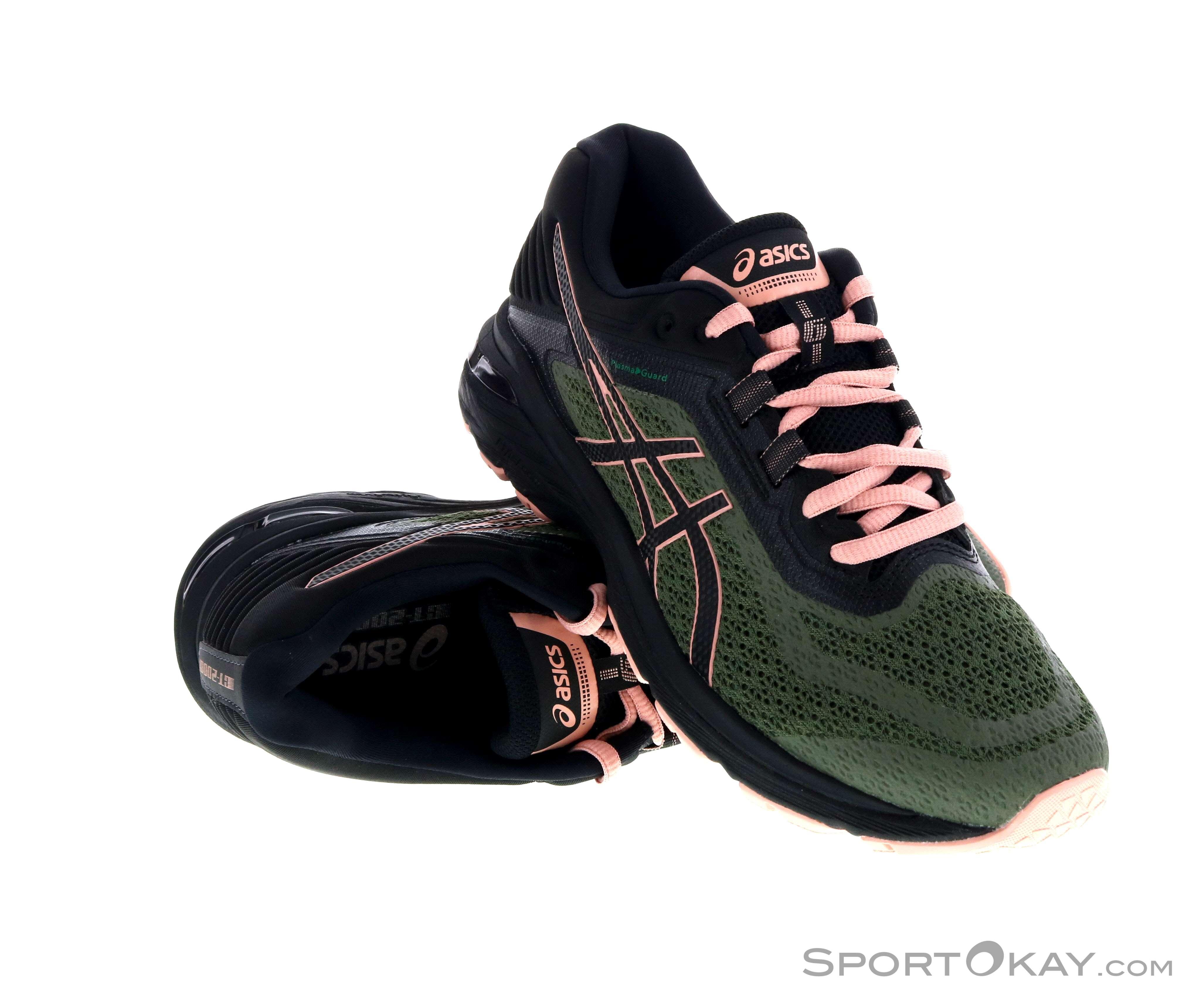 Asics GT-2000 6 Trail Damen Traillaufschuhe-Schwarz-9,5