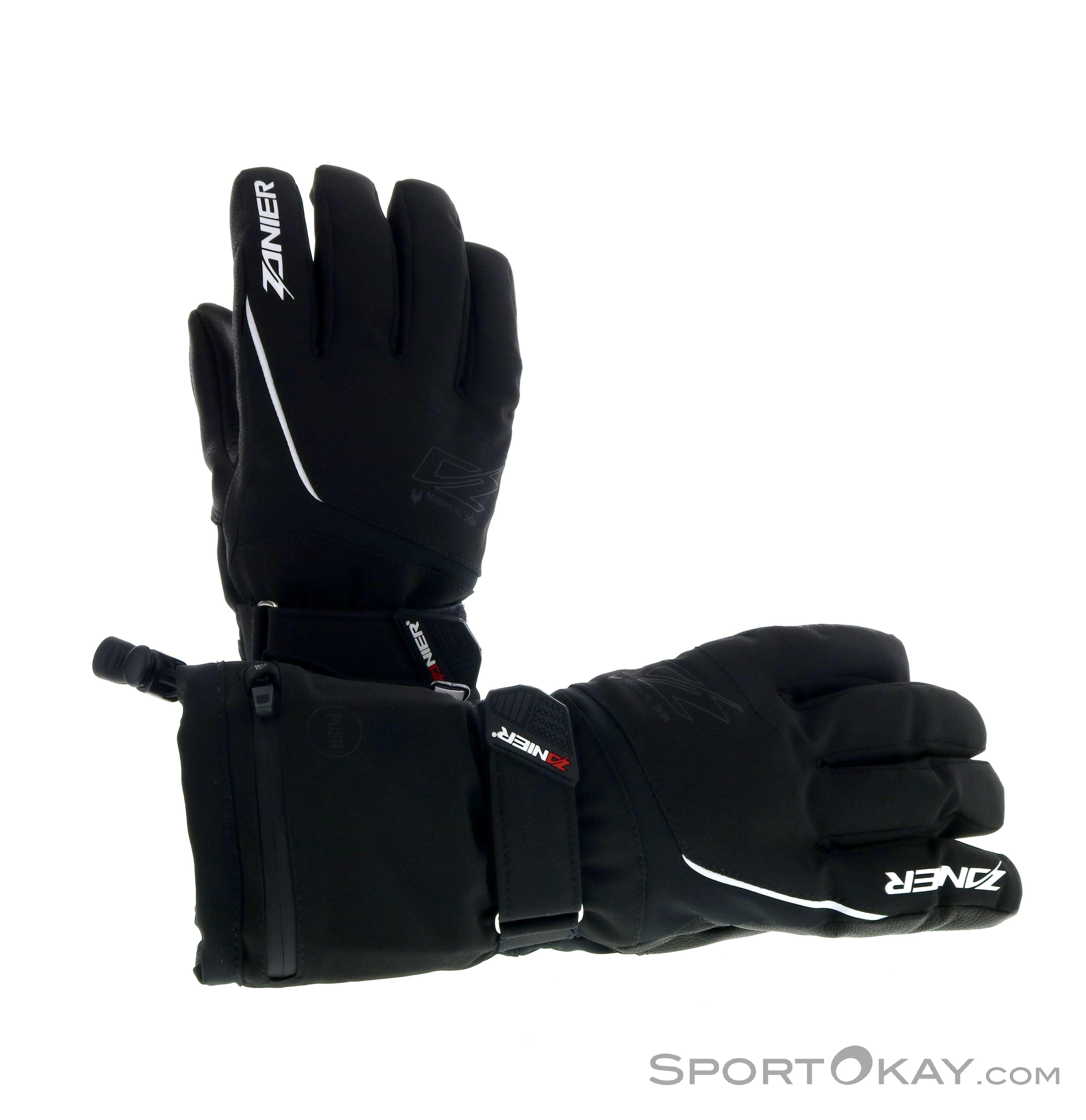 Zanier Heat ZX 3.0 Damen Handschuhe-Schwarz-L