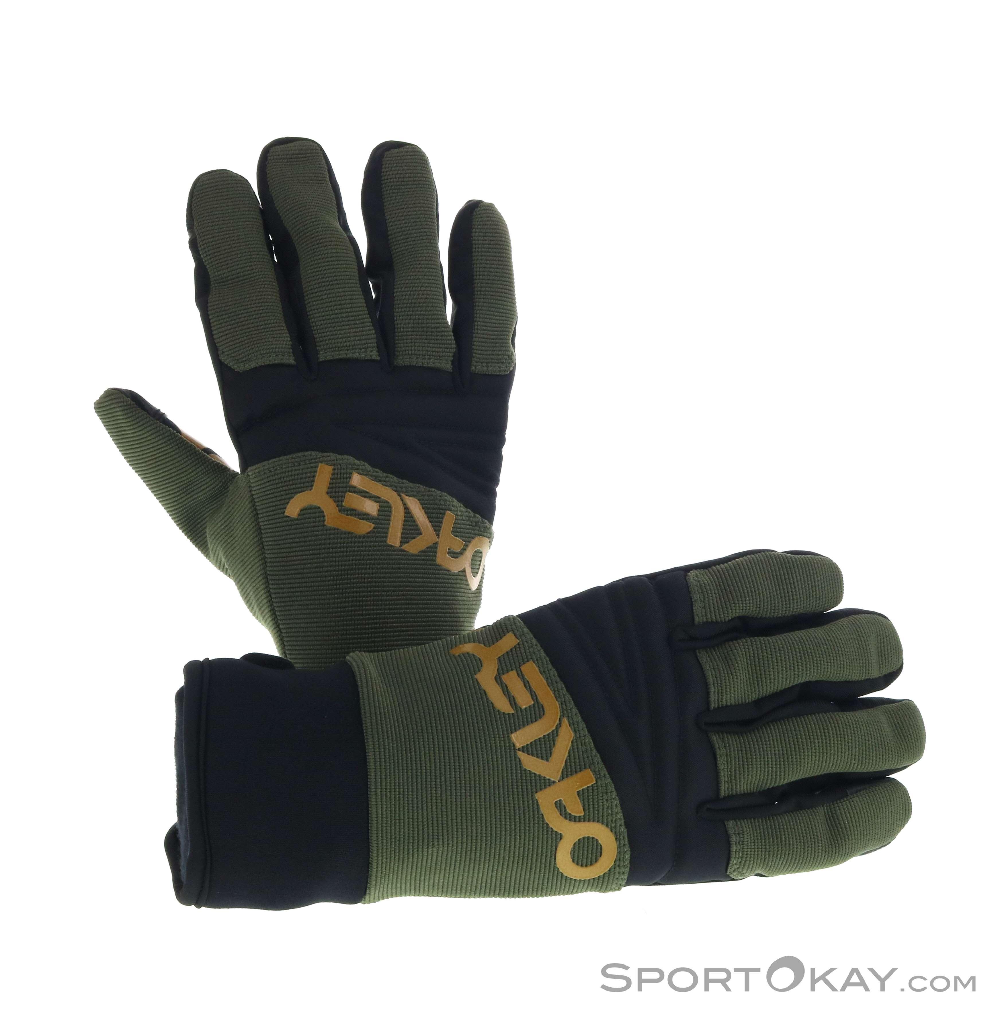 Oakley Factory Park Glove Handschuhe-Oliv-Dunkelgrün-L
