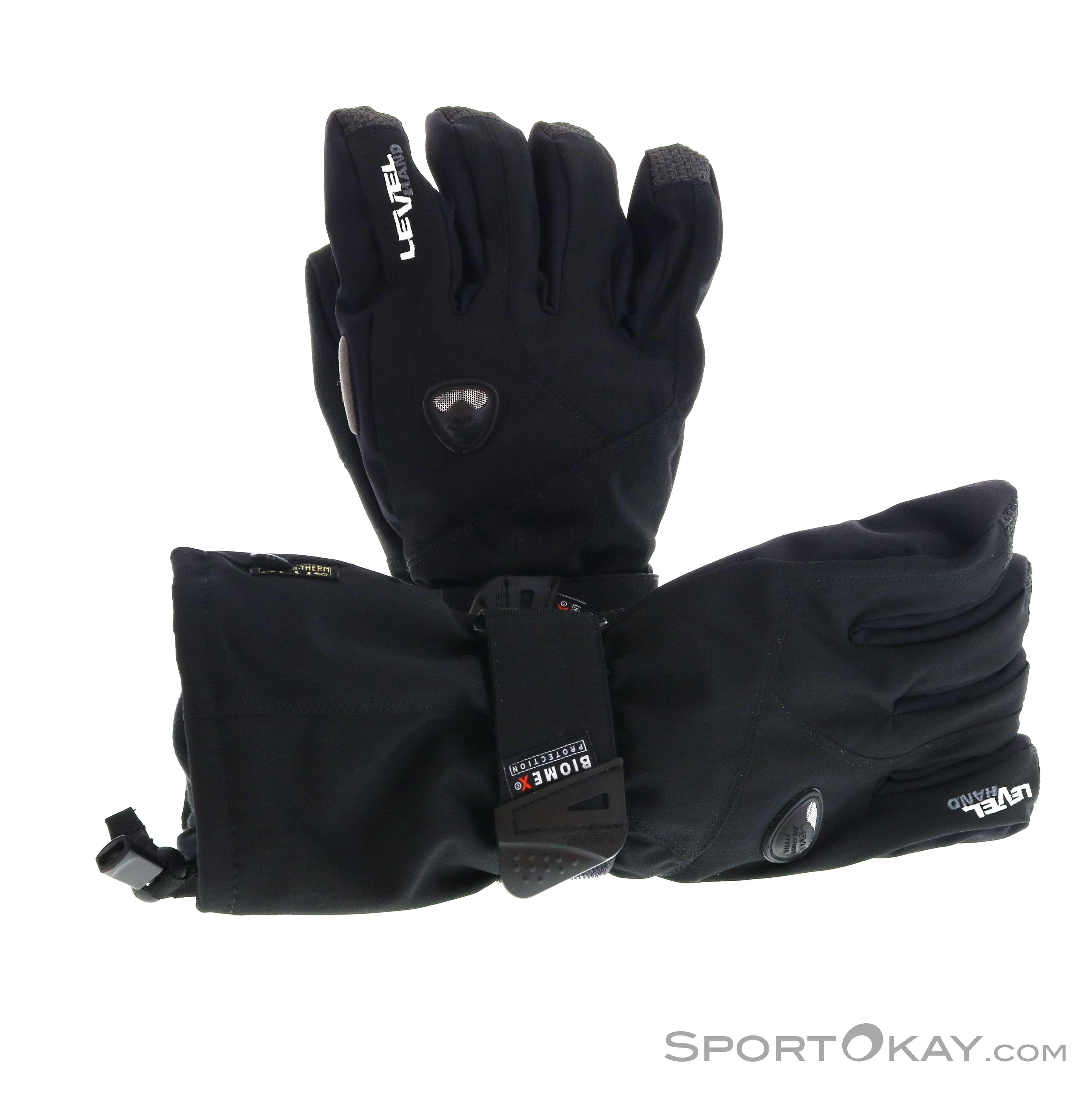 Level Fly Glove Handschuhe-Schwarz-8